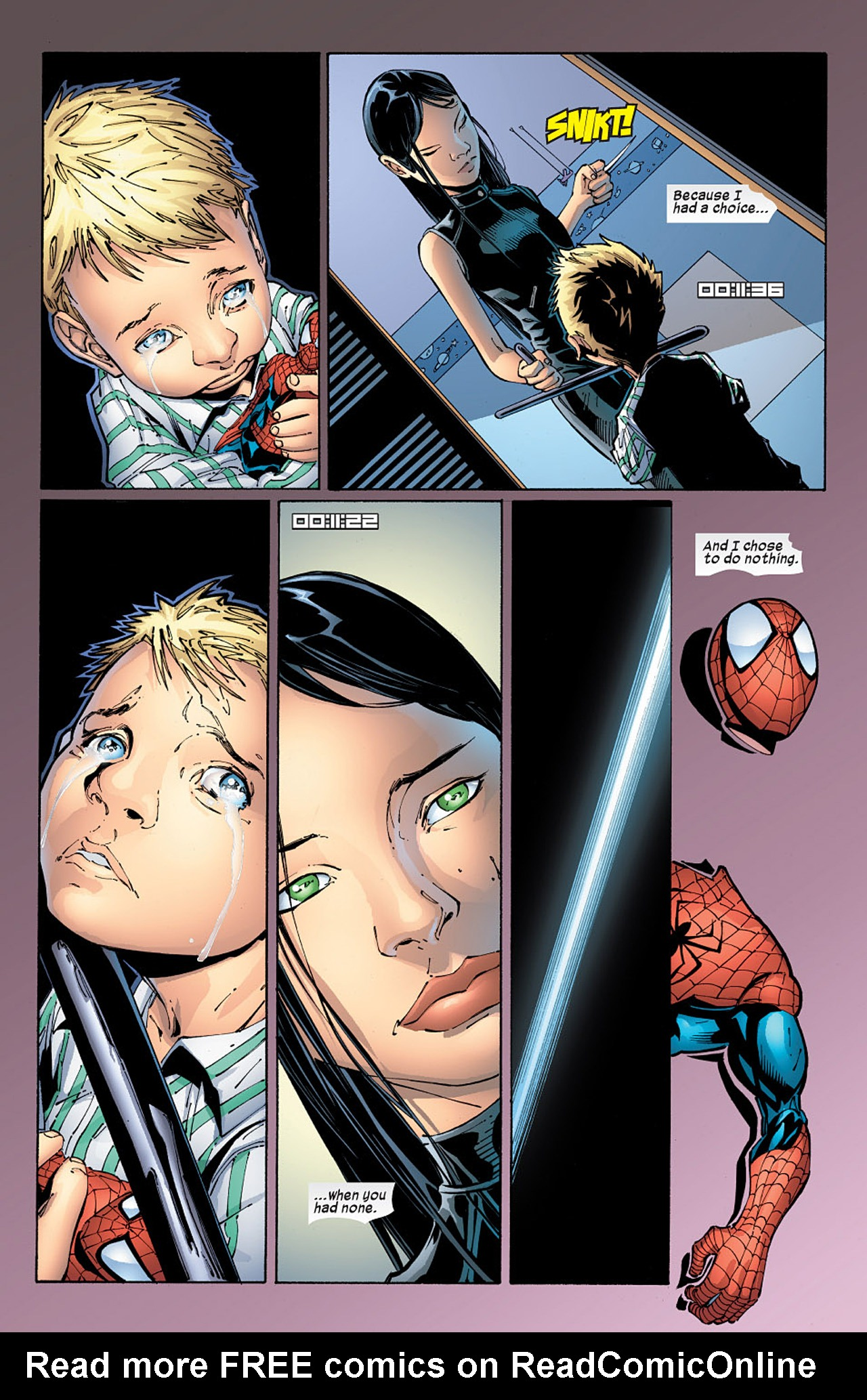 Read online X-23 (2005) comic -  Issue #5 - 6