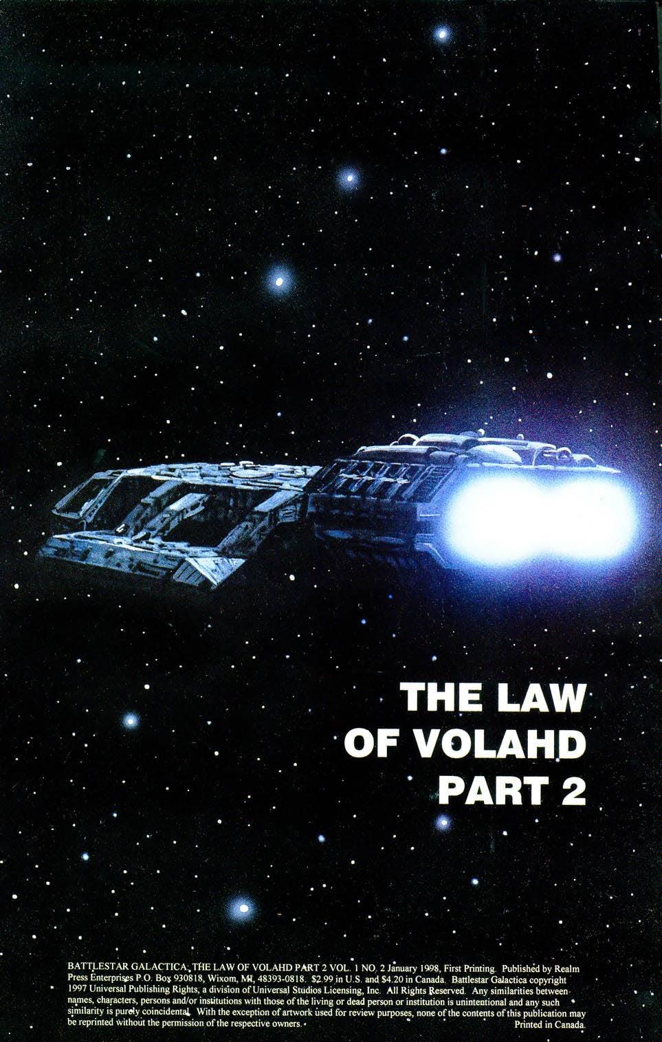 Battlestar Galactica (1997) 2 Page 2