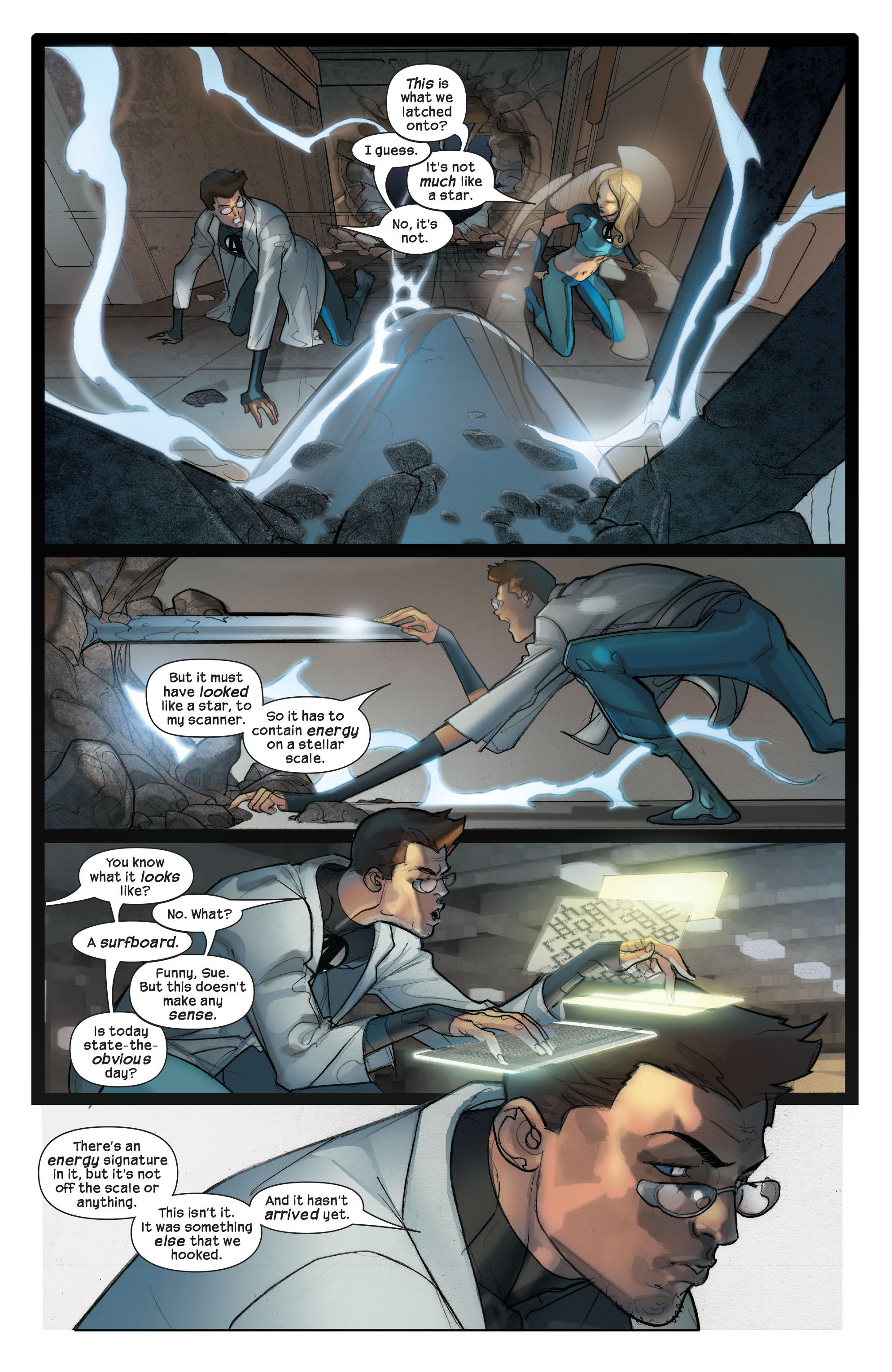 Read online Ultimate Fantastic Four (2004) comic -  Issue #42 - 23