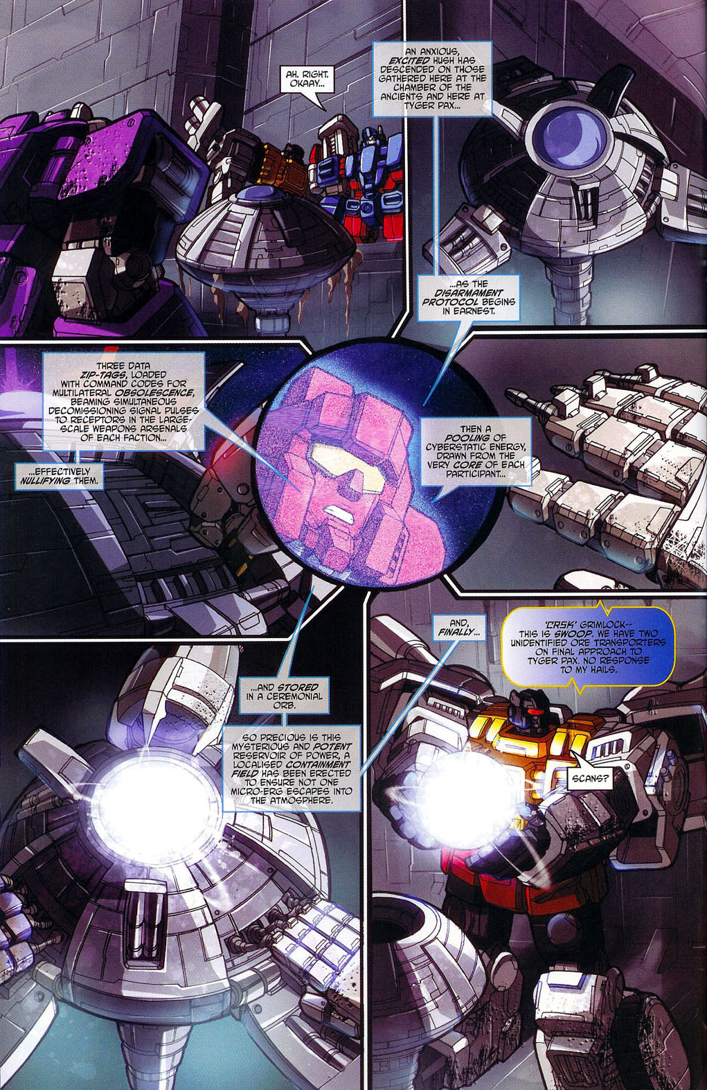 """Read online Transformers War Within: """"The Age of Wrath"""" comic -  Issue #1 - 15"""