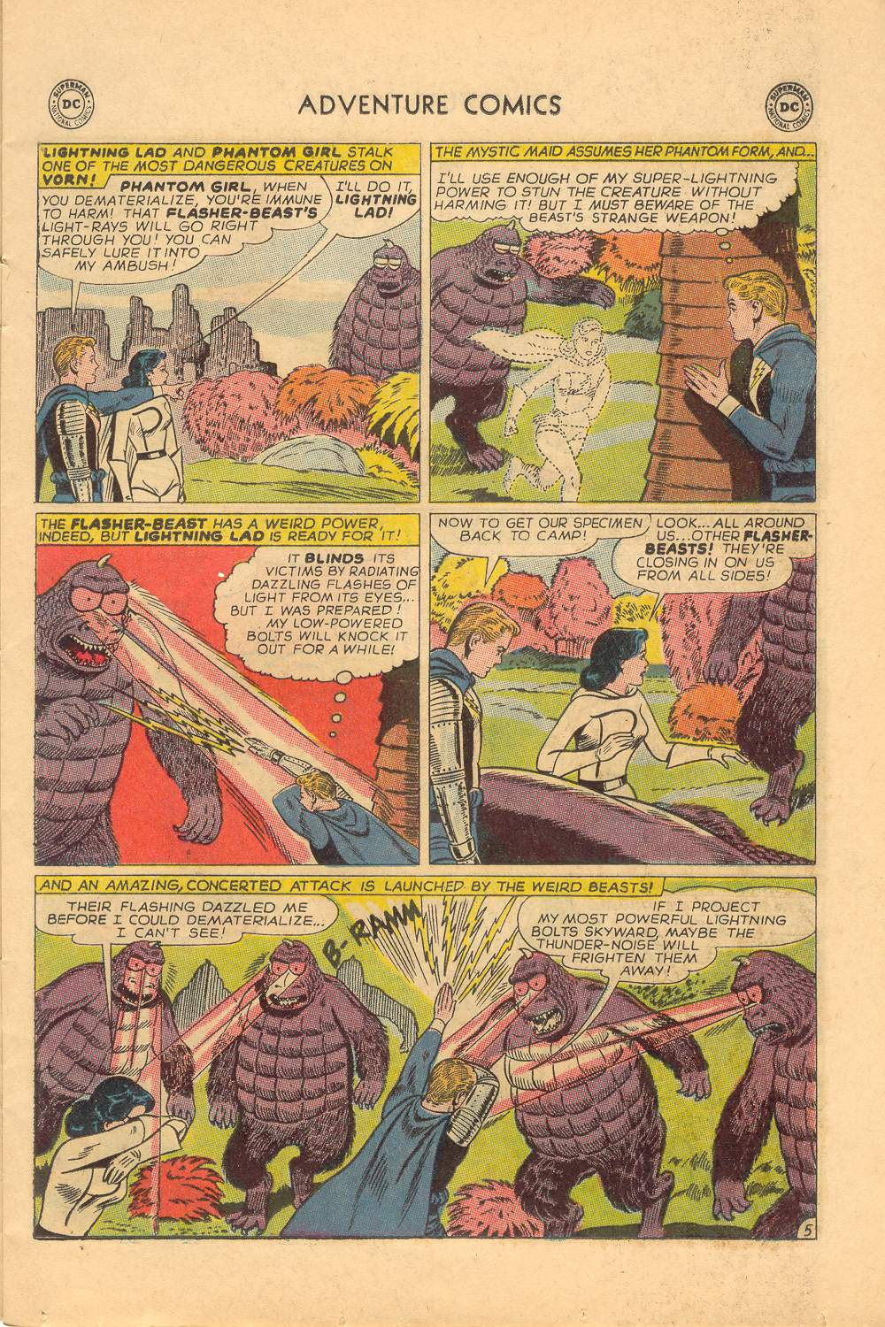 Read online Adventure Comics (1938) comic -  Issue #339 - 7