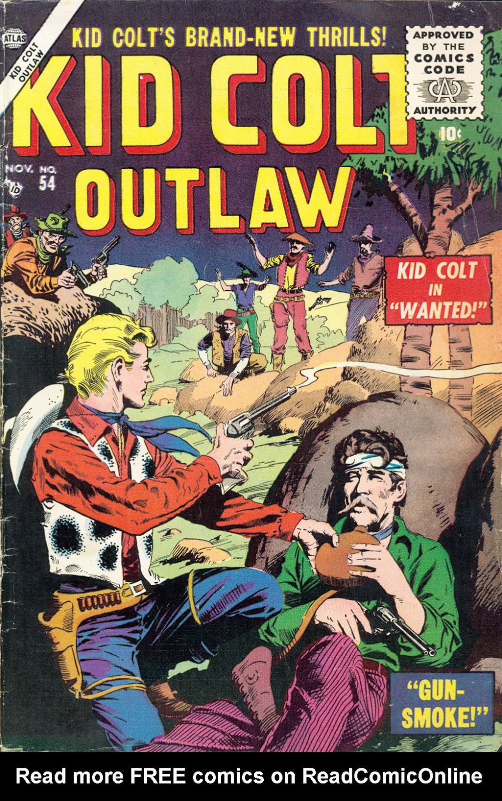 Kid Colt Outlaw issue 54 - Page 1