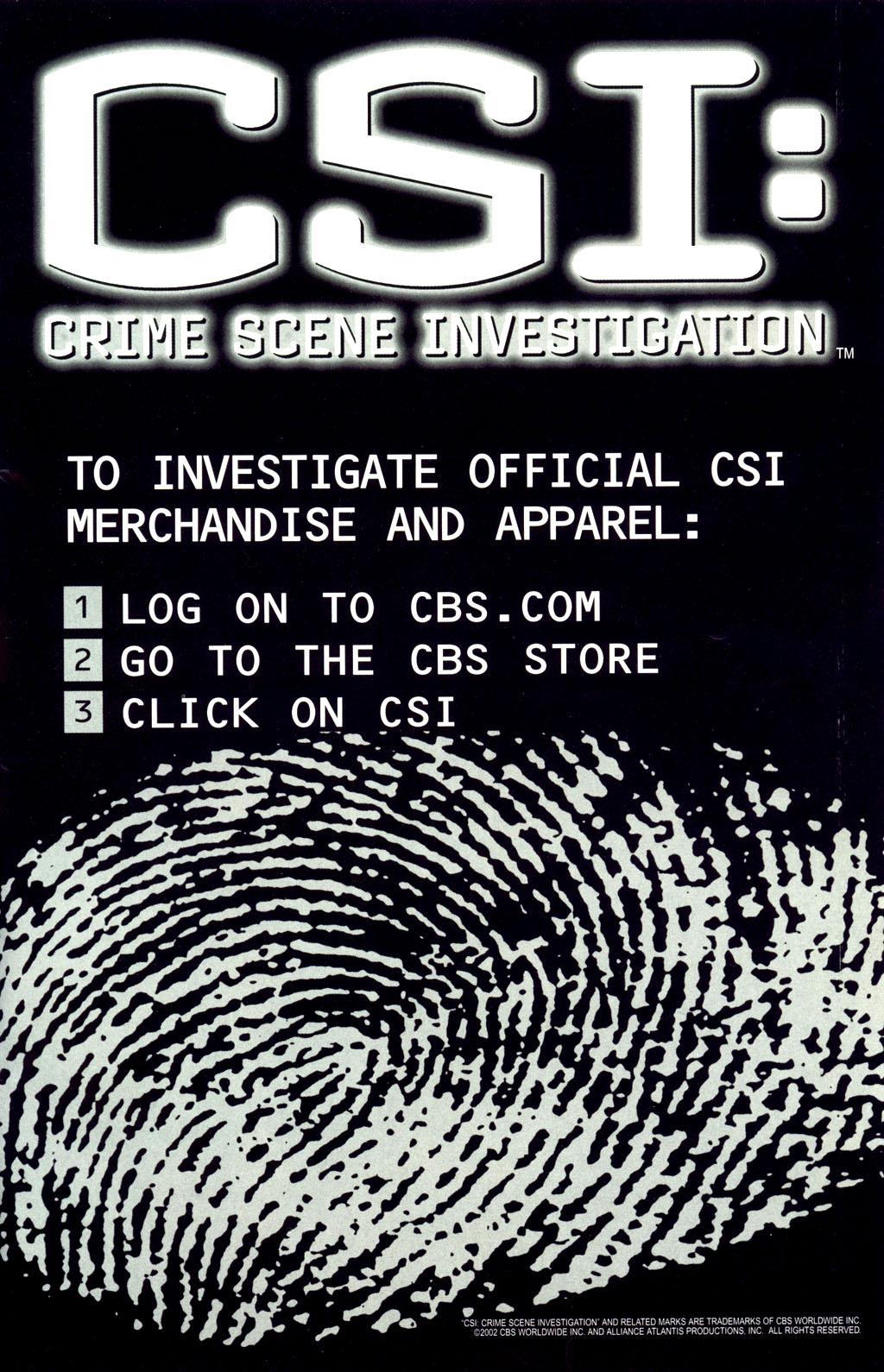 Read online CSI: Crime Scene Investigation: Bad Rap comic -  Issue #2 - 33