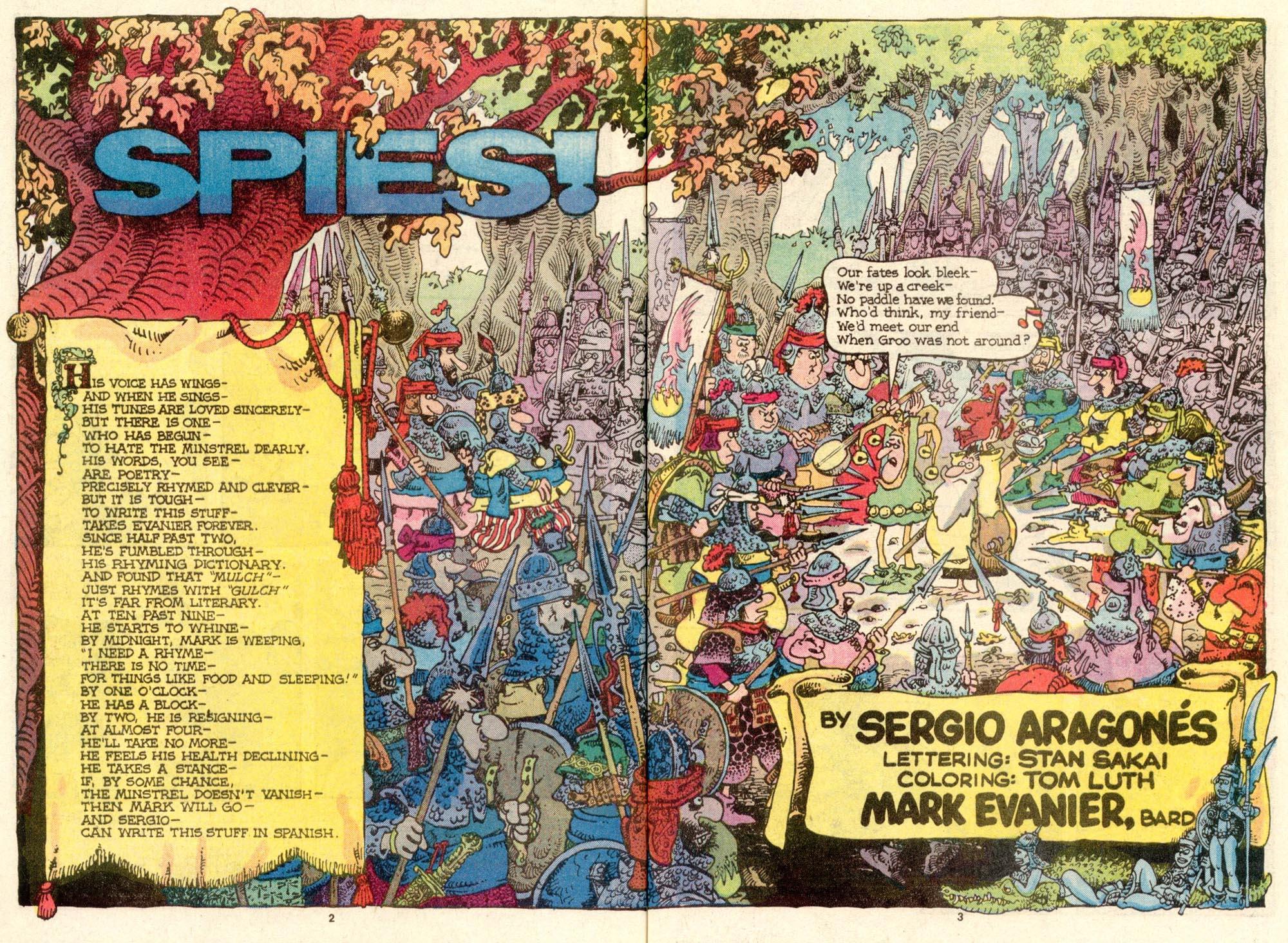 Read online Sergio Aragonés Groo the Wanderer comic -  Issue #27 - 3