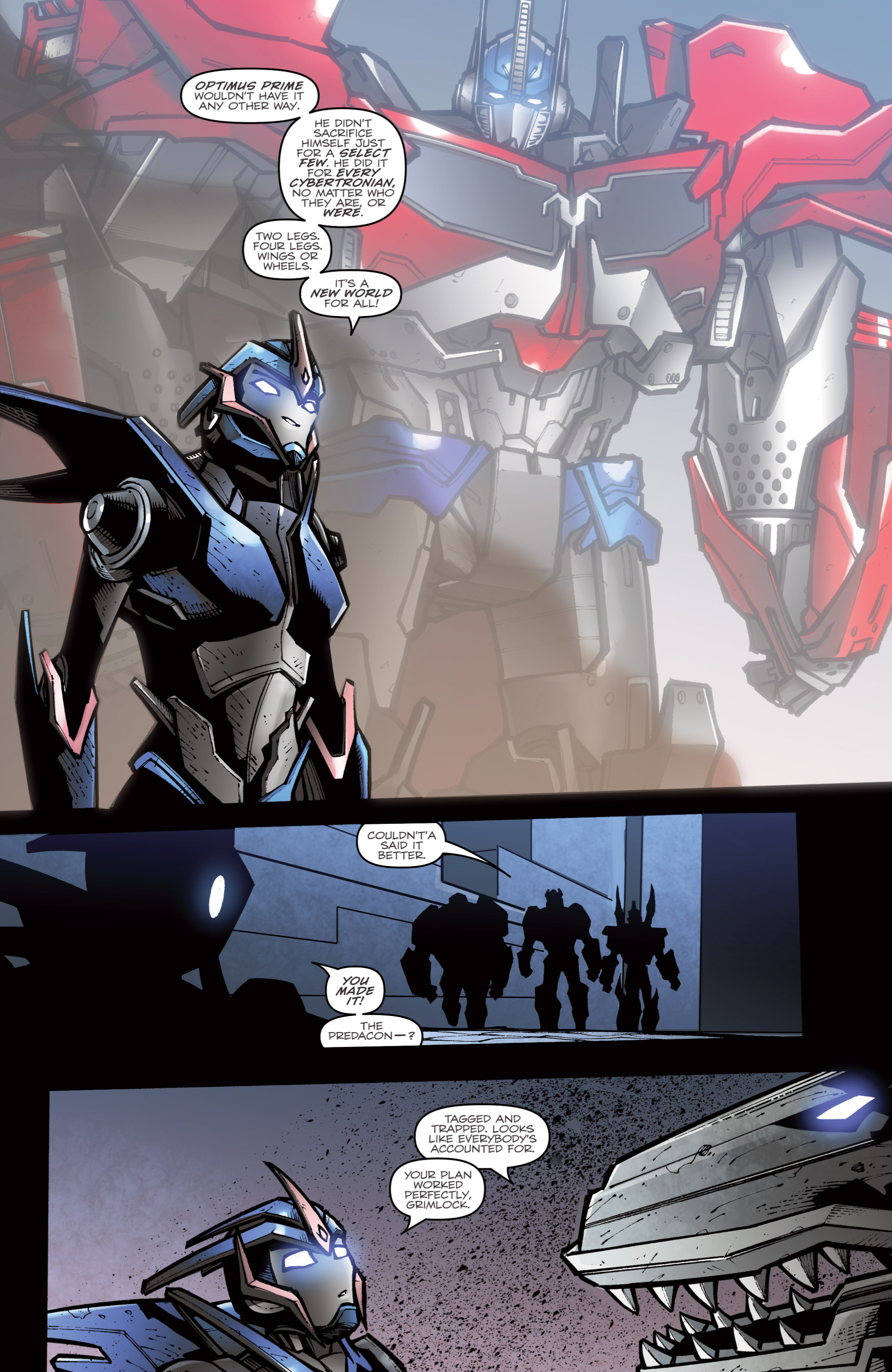 Read online Transformers Prime: Beast Hunters comic -  Issue #8 - 21