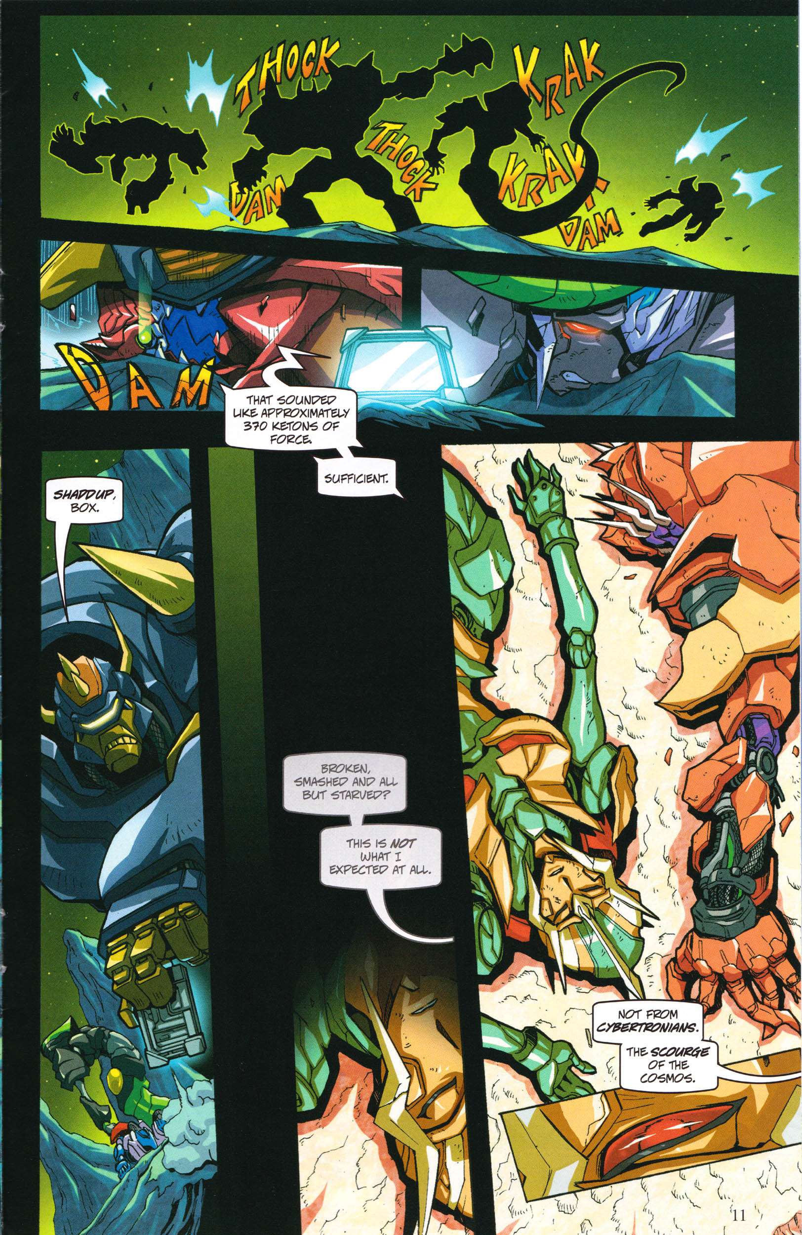 Read online Transformers: Collectors' Club comic -  Issue #58 - 11