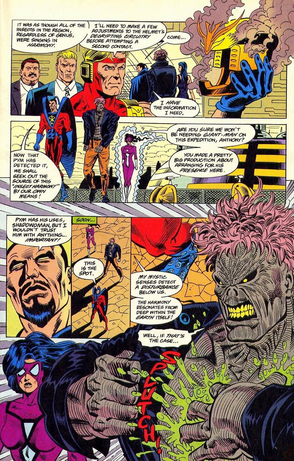 Read online Secret Defenders comic -  Issue #18 - 16