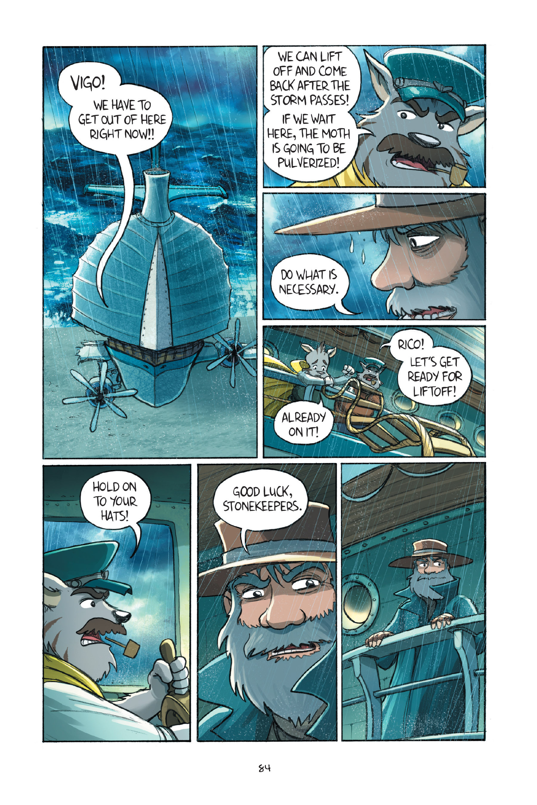Read online Amulet comic -  Issue #7 - 85