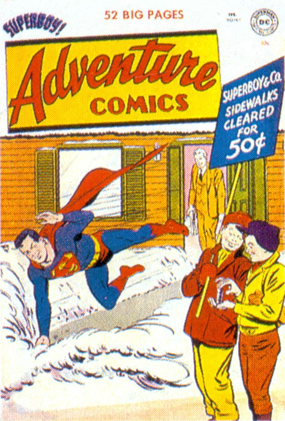 Read online Adventure Comics (1938) comic -  Issue #161 - 1