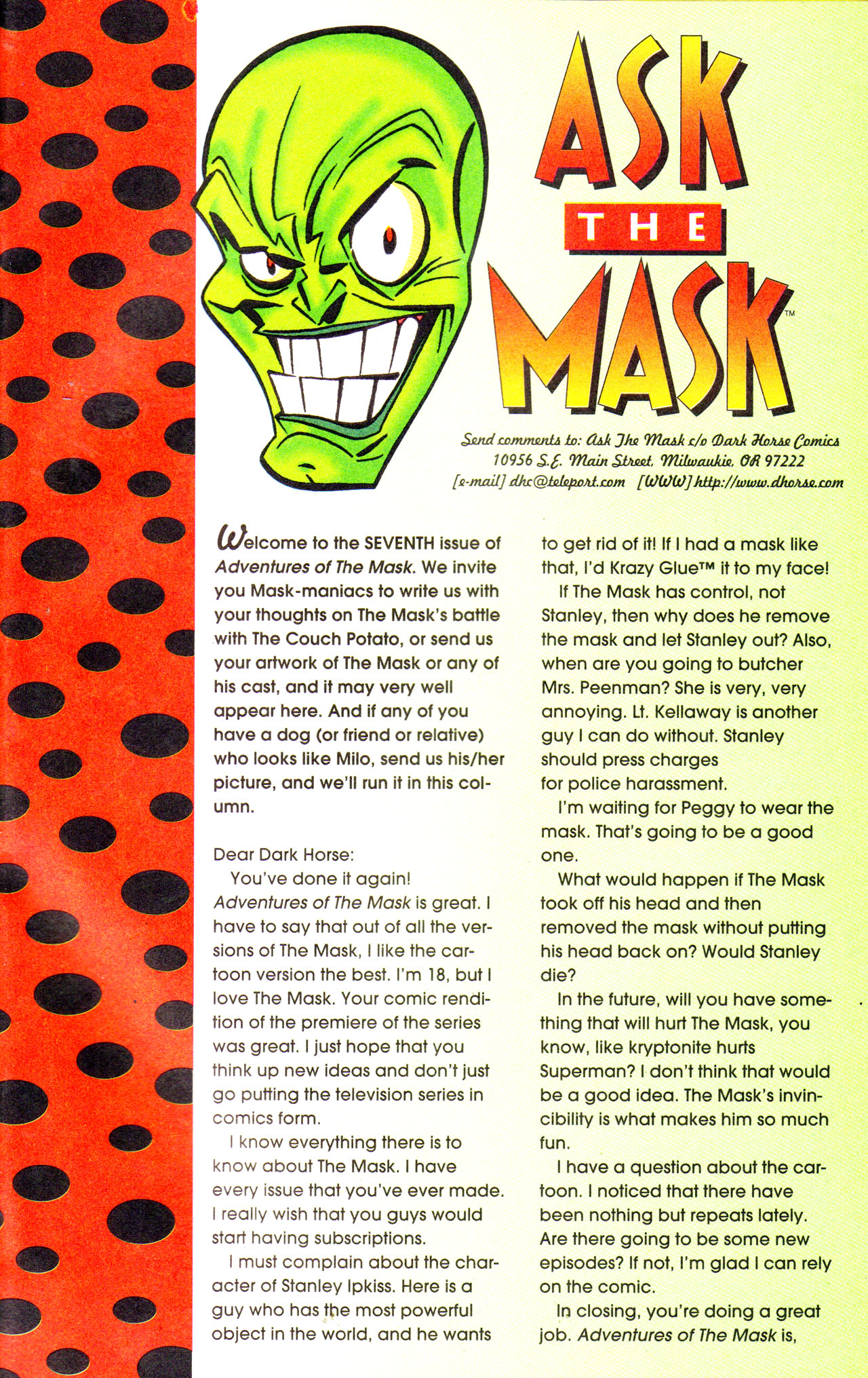 Read online Adventures Of The Mask comic -  Issue #7 - 25