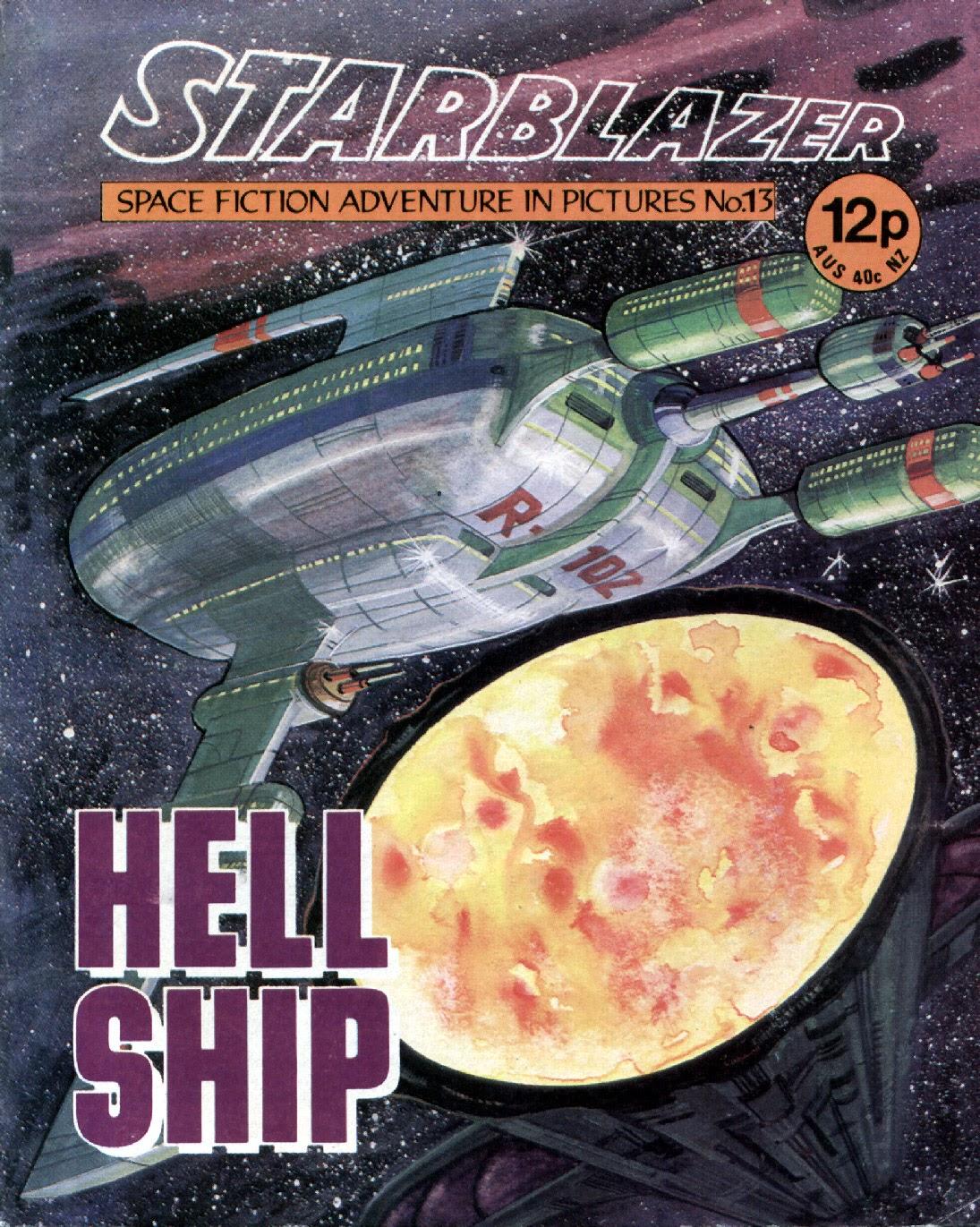 Starblazer issue 13 - Page 1