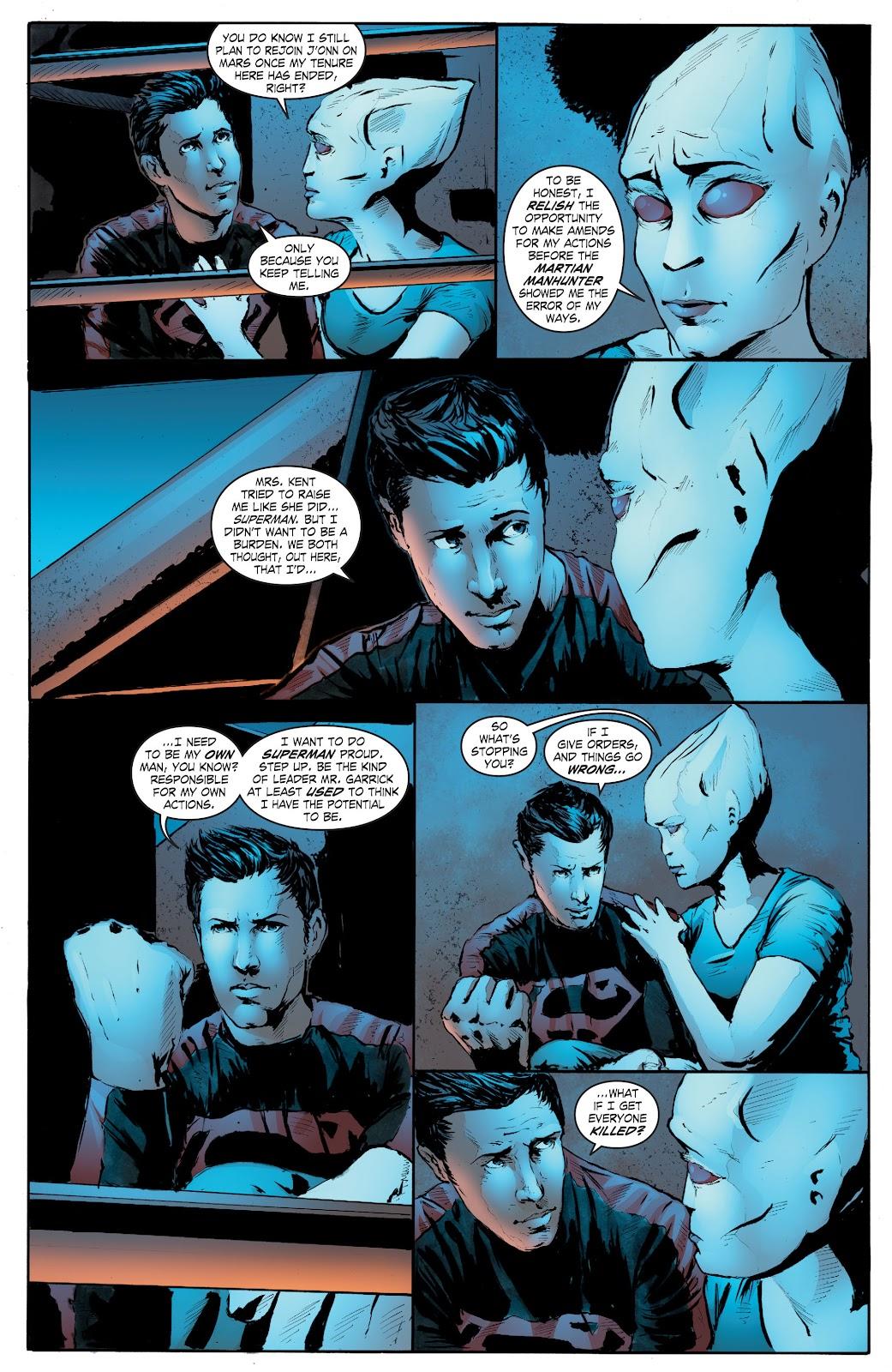 Read online Smallville Season 11 [II] comic -  Issue # TPB 7 - 152