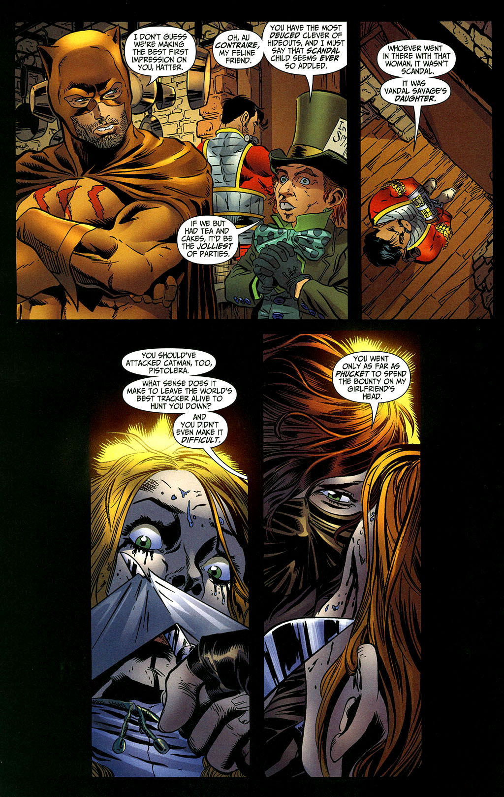 Read online Secret Six (2006) comic -  Issue #2 - 11