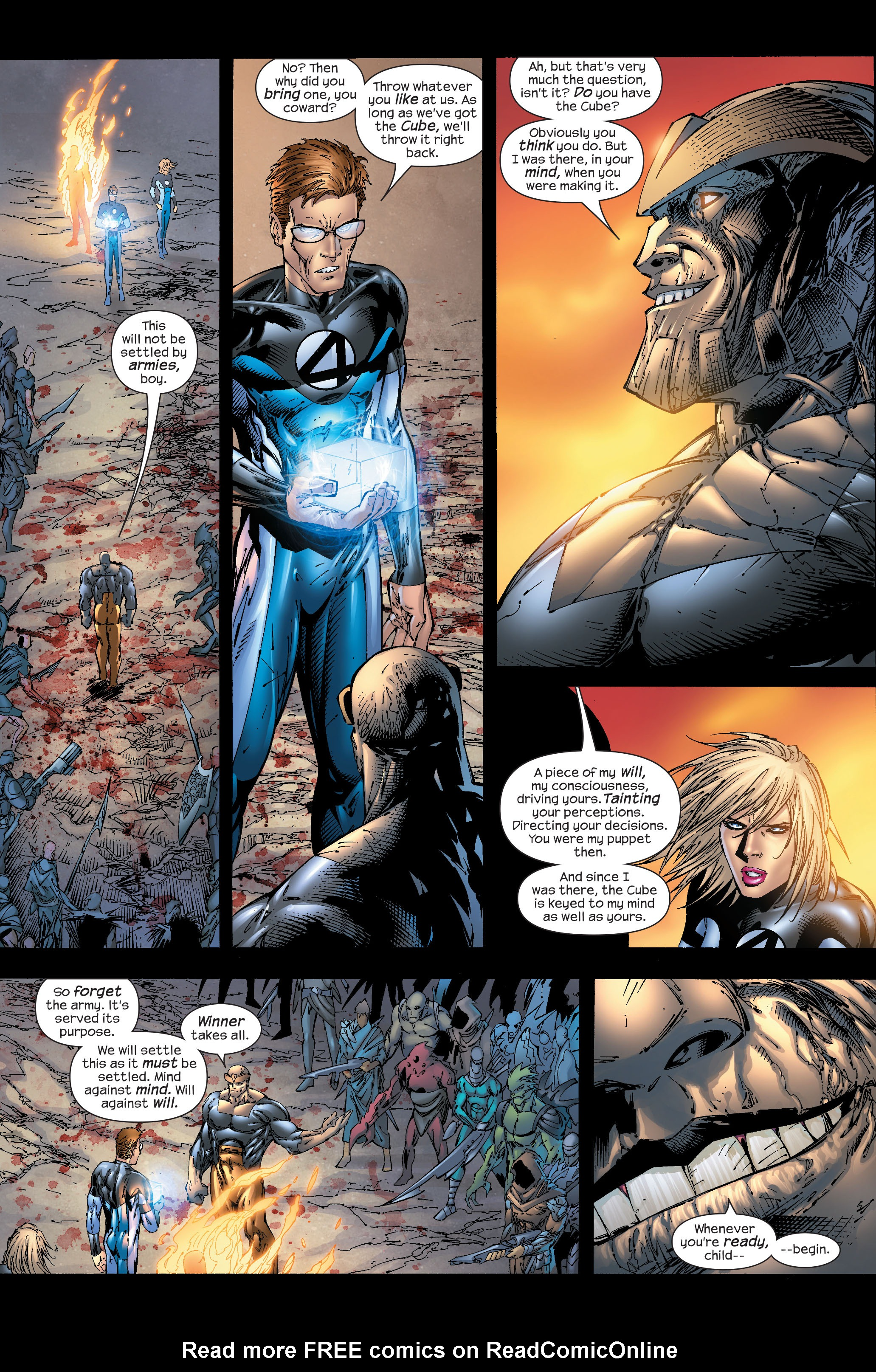 Read online Ultimate Fantastic Four (2004) comic -  Issue #51 - 19