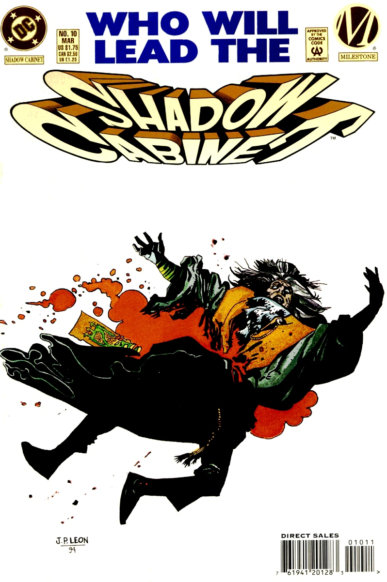 Read online Shadow Cabinet comic -  Issue #10 - 1