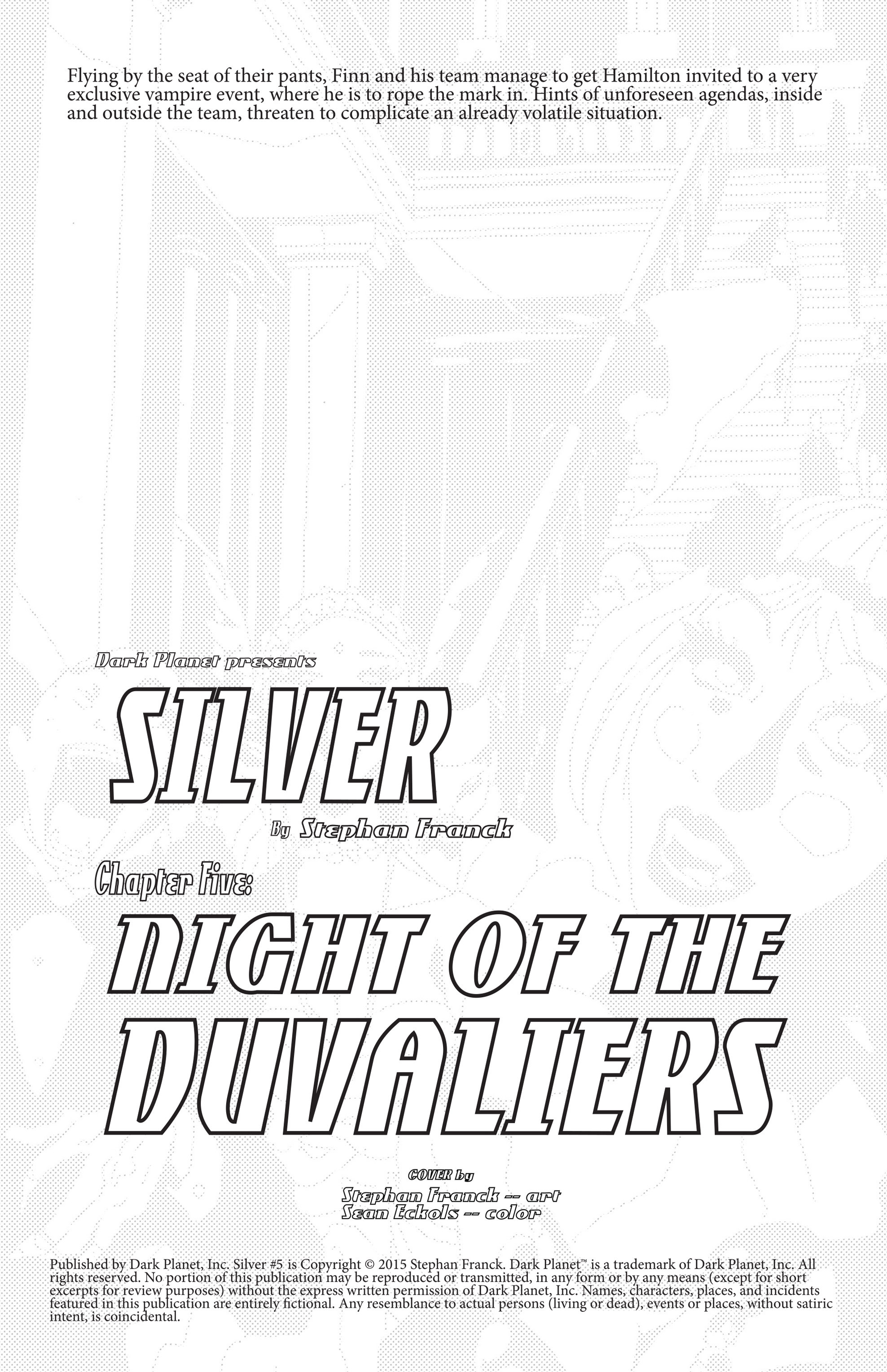 Read online Silver comic -  Issue #5 - 2