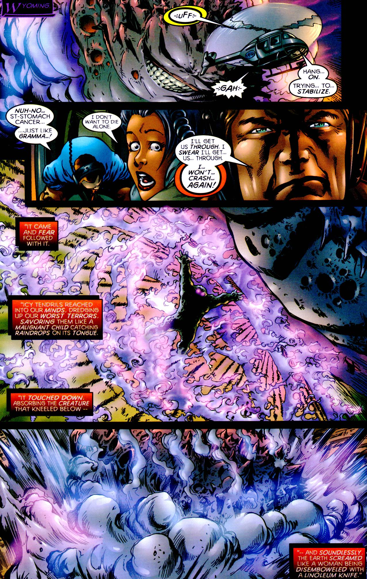 Read online Armageddon (1999) comic -  Issue #1 - 19