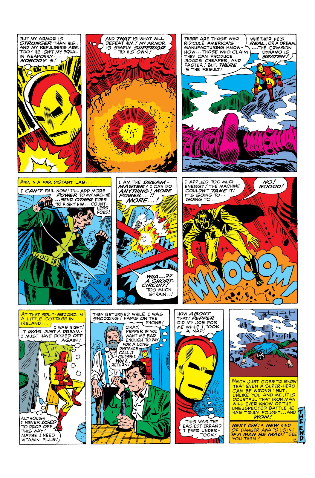 Read online Marvel Masterworks: The Invincible Iron Man comic -  Issue # TPB 3 (Part 1) - 38