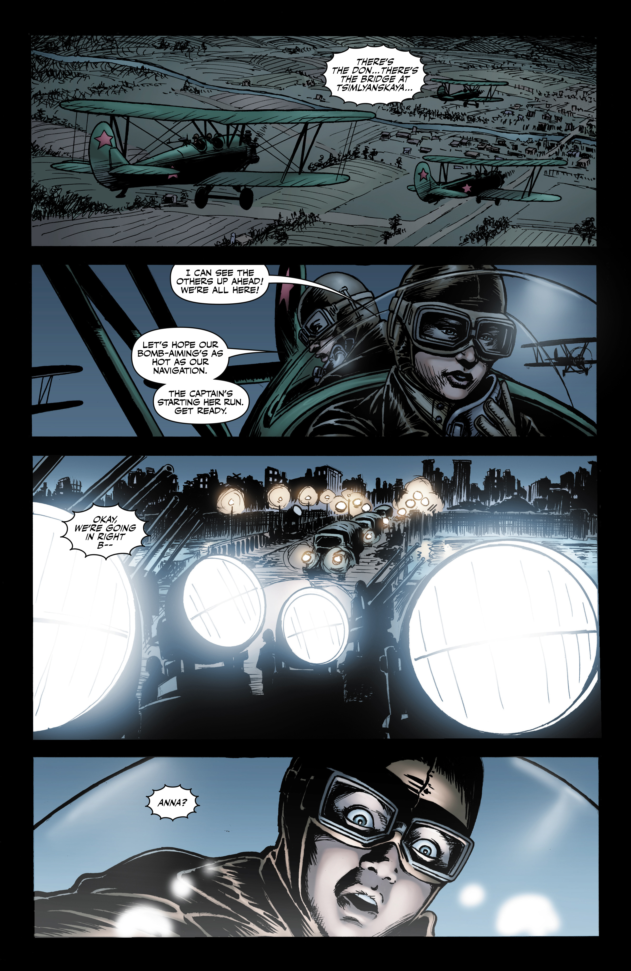 Read online Battlefields: Night Witches comic -  Issue # TPB - 17