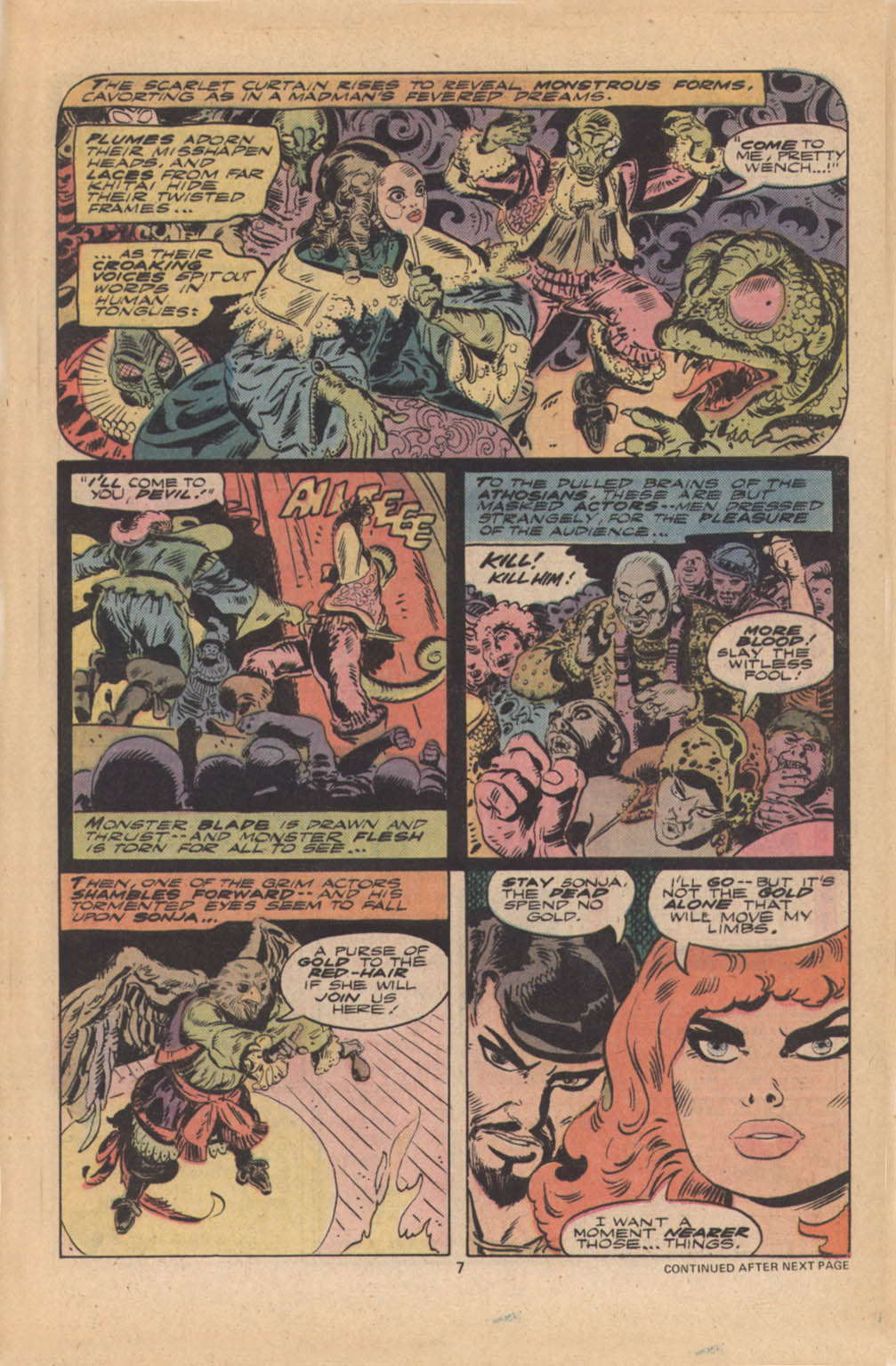 Red Sonja (1977) issue 4 - Page 6