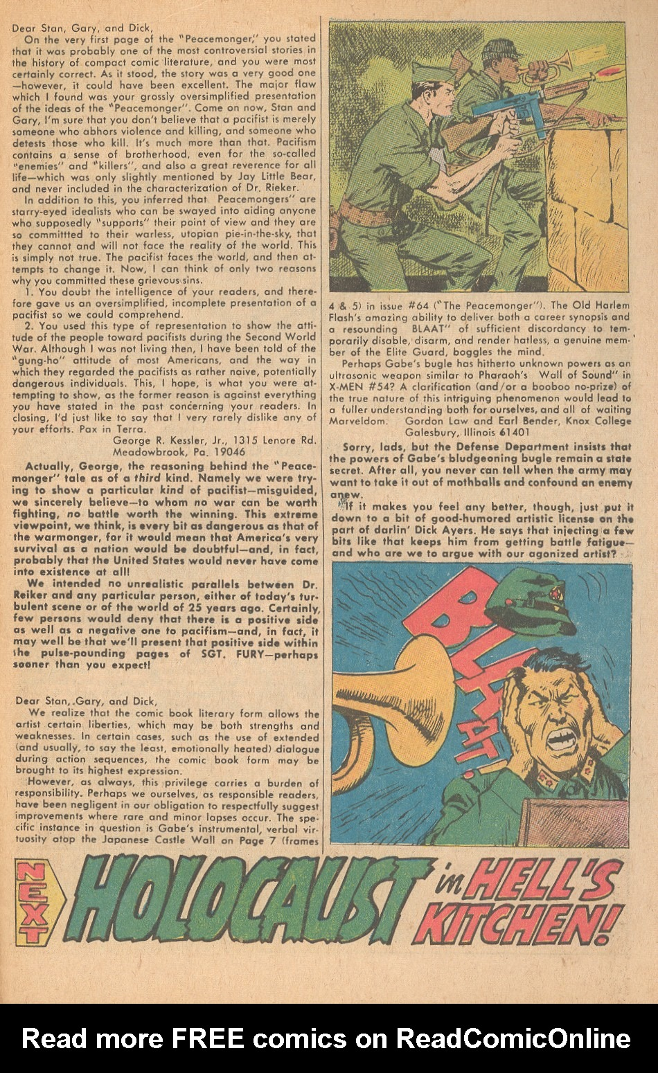 Read online Sgt. Fury comic -  Issue #68 - 33