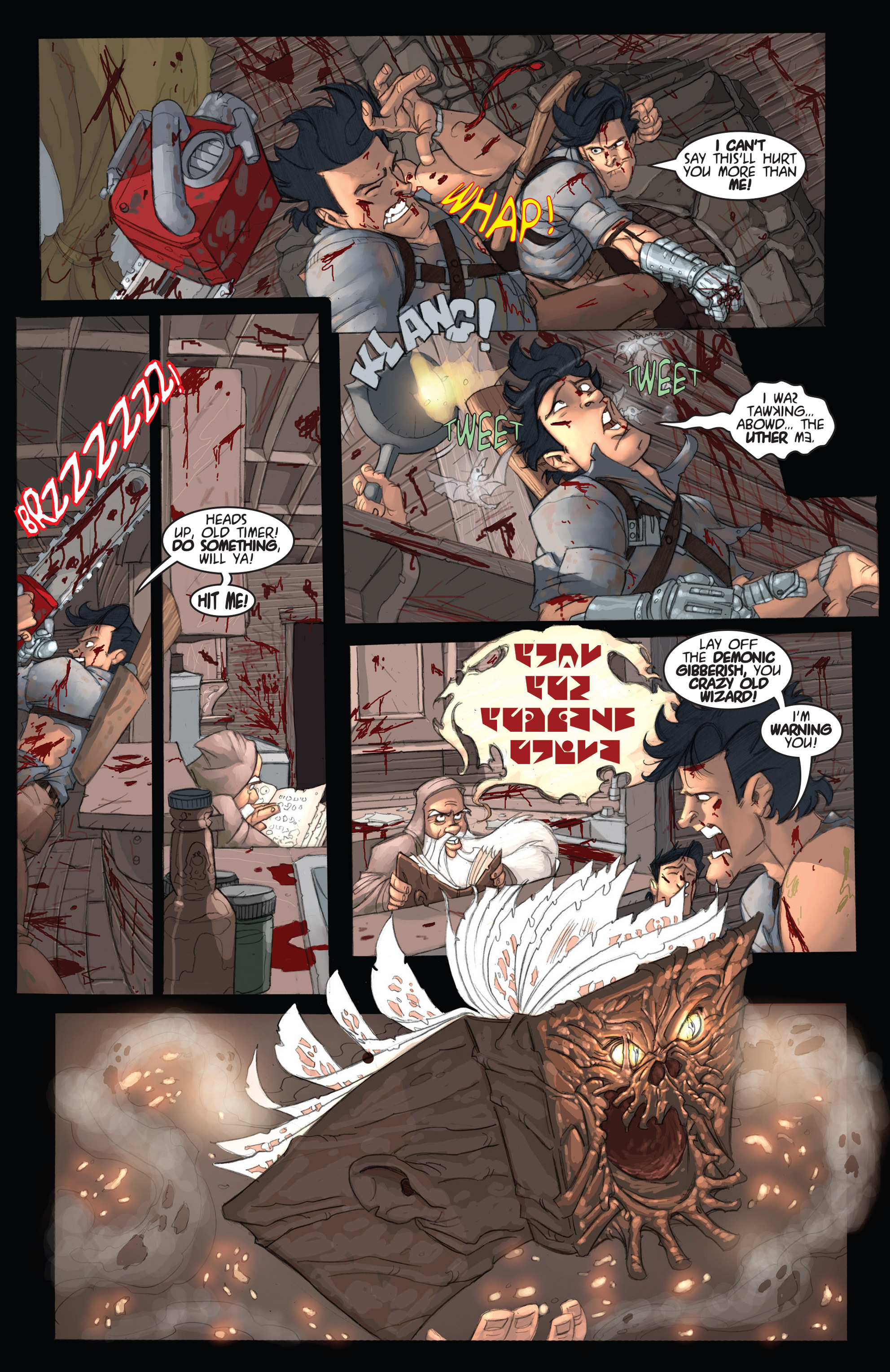 Read online Army of Darkness: Ashes 2 Ashes comic -  Issue #2 - 21