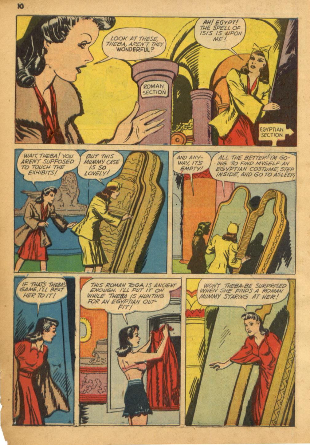Read online Shadow Comics comic -  Issue #32 - 11