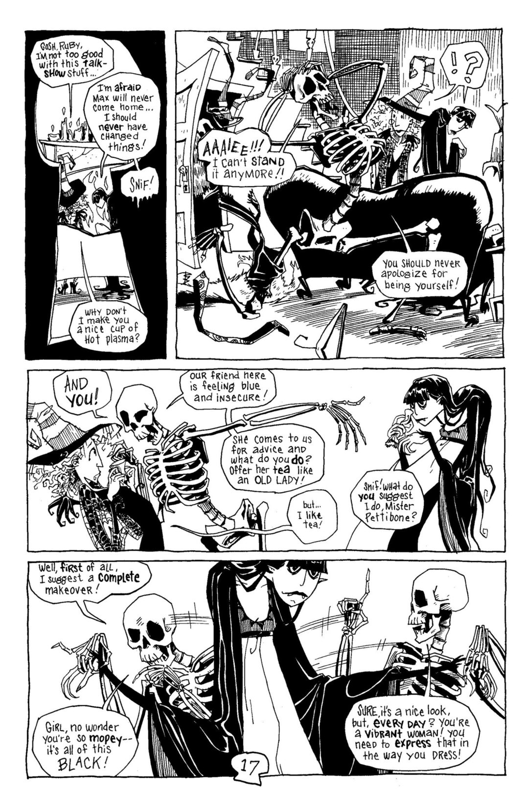 Read online Scary Godmother Comic Book Stories comic -  Issue # TPB - 18