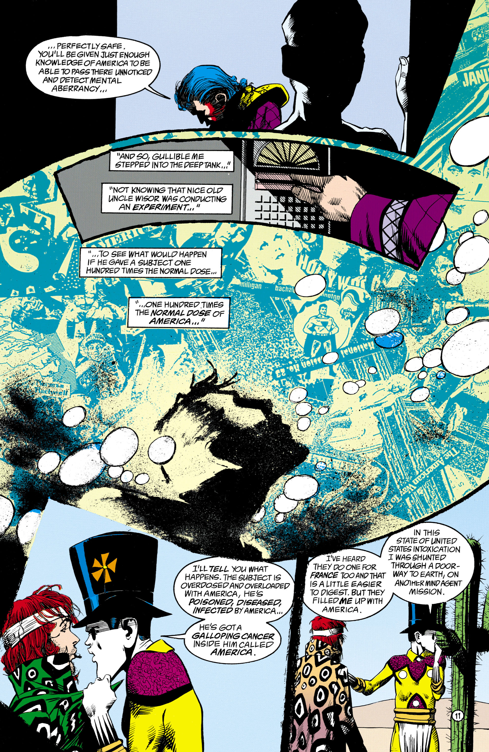 Read online Shade, the Changing Man comic -  Issue #16 - 11