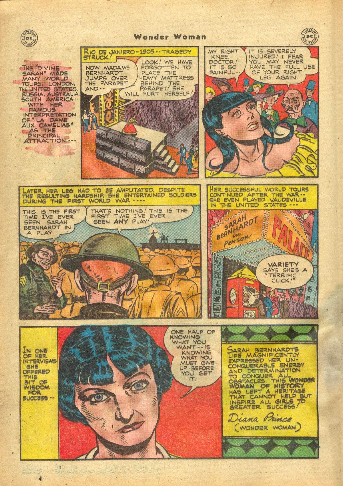 Read online Wonder Woman (1942) comic -  Issue #22 - 18