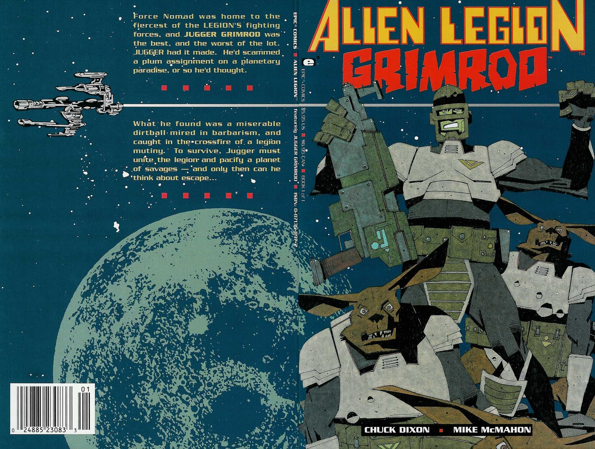 Alien Legion: Jugger Grimrod issue Full - Page 1