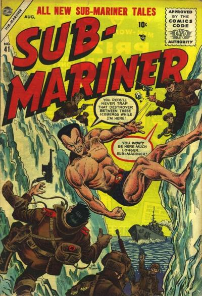 Sub-Mariner Comics 41 Page 1