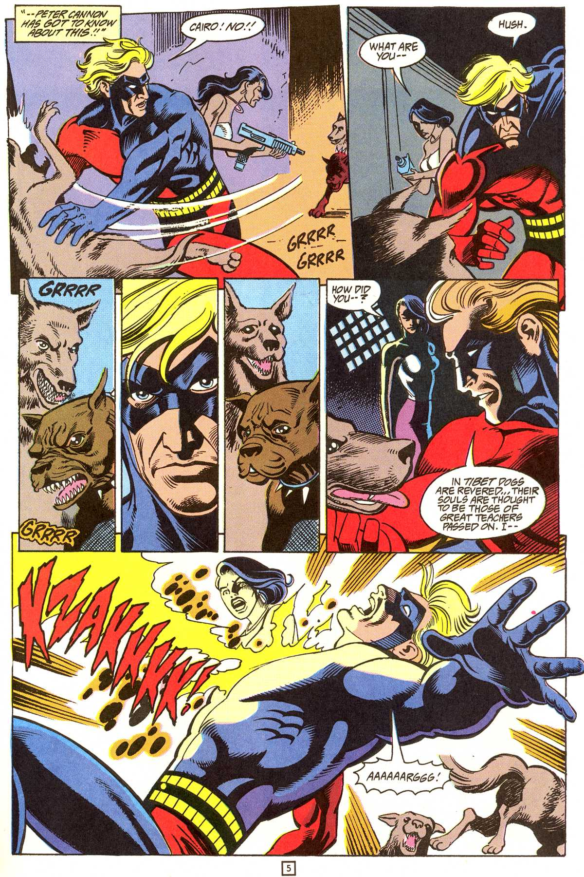 Read online Peter Cannon--Thunderbolt (1992) comic -  Issue #9 - 6