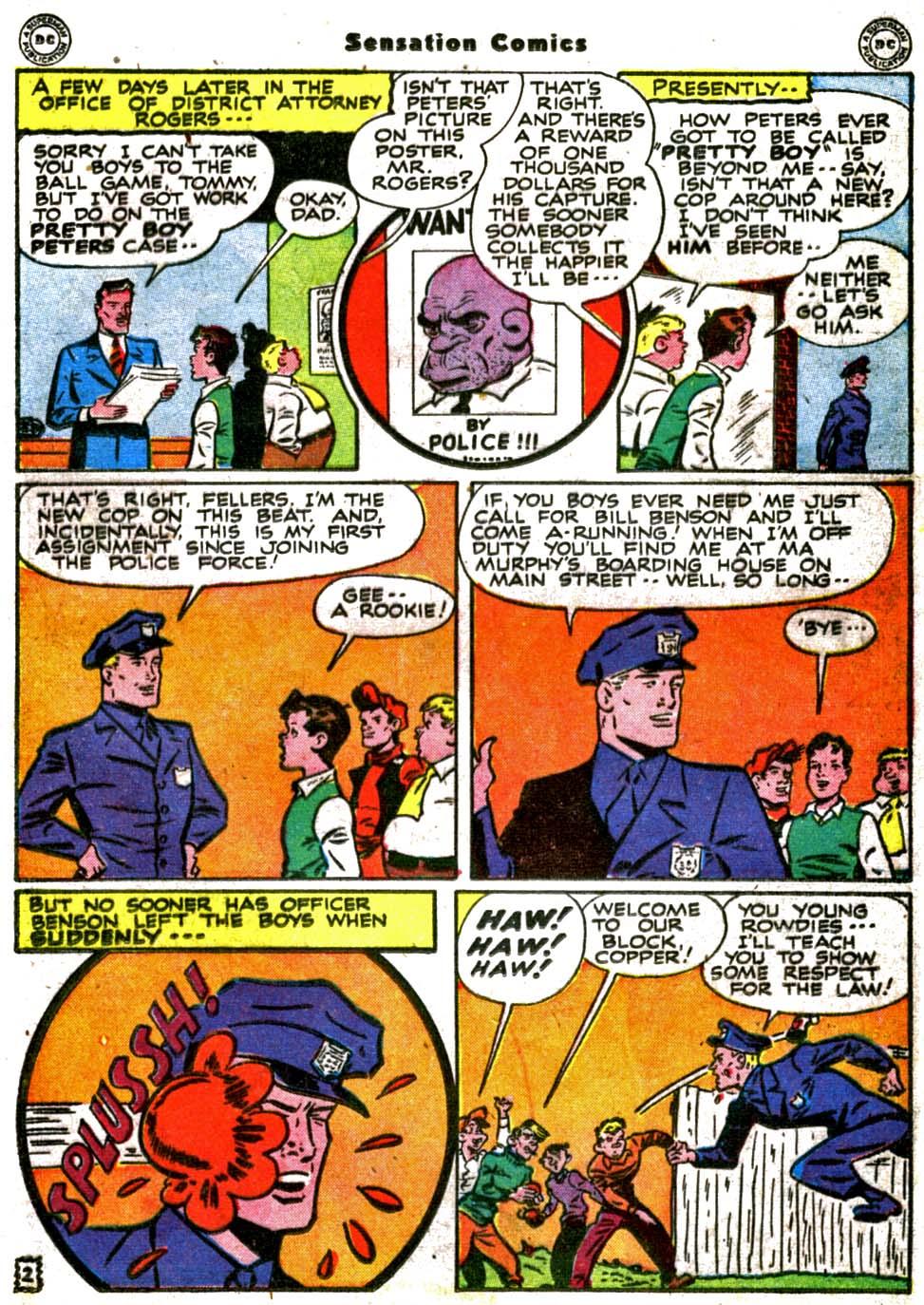 Read online Sensation (Mystery) Comics comic -  Issue #64 - 17