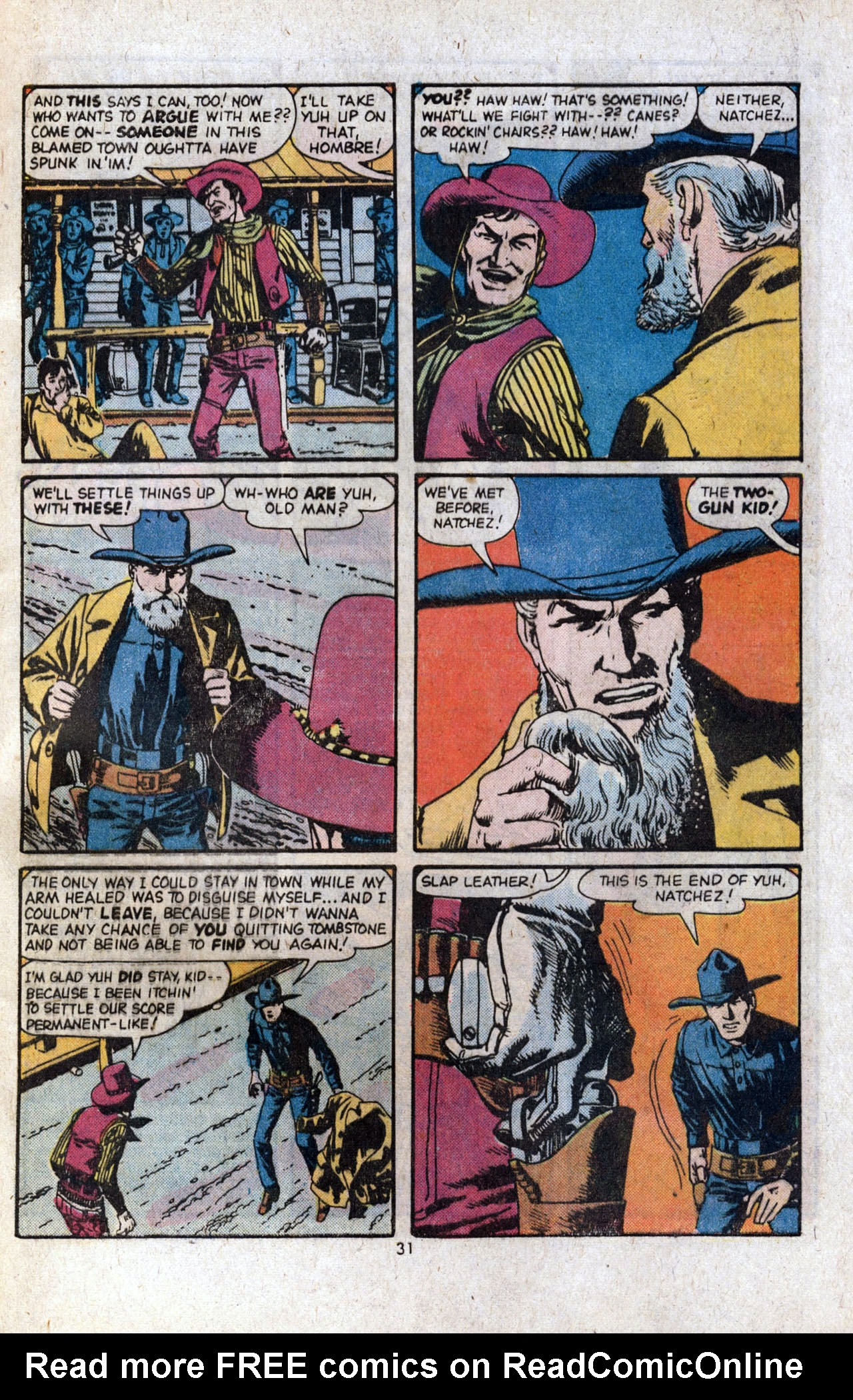 Read online Two-Gun Kid comic -  Issue #120 - 33