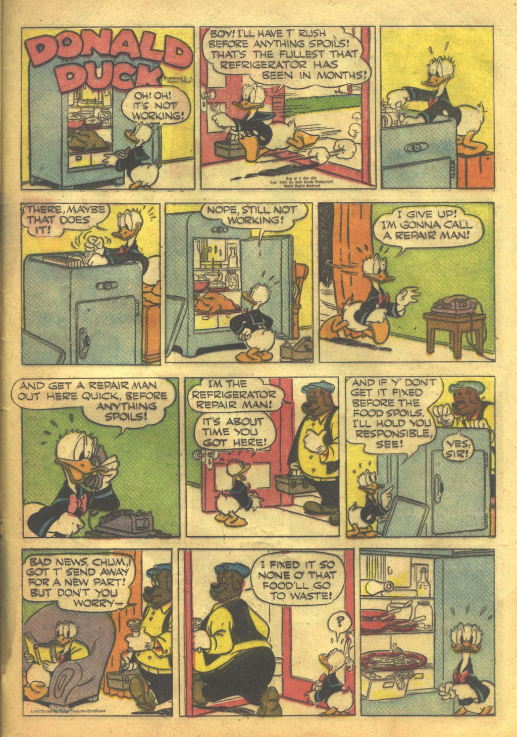 Walt Disney's Comics and Stories issue 62 - Page 43