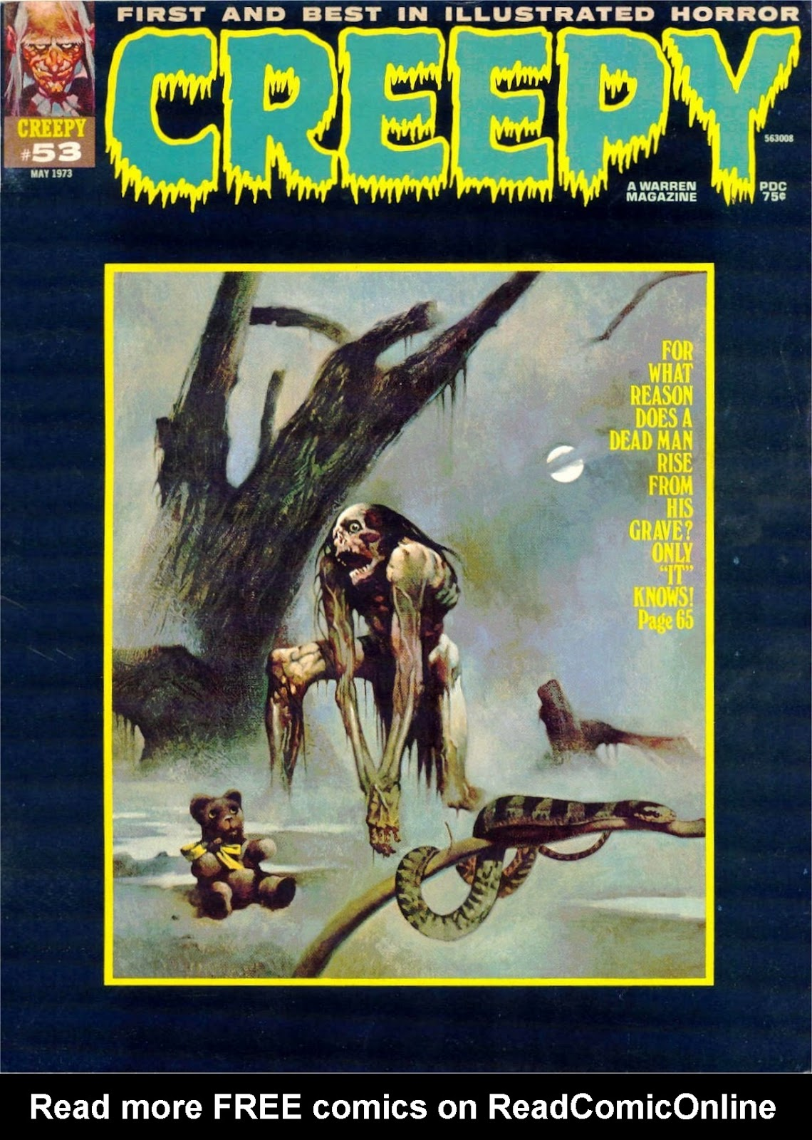Creepy (1964) Issue #53 #53 - English 1