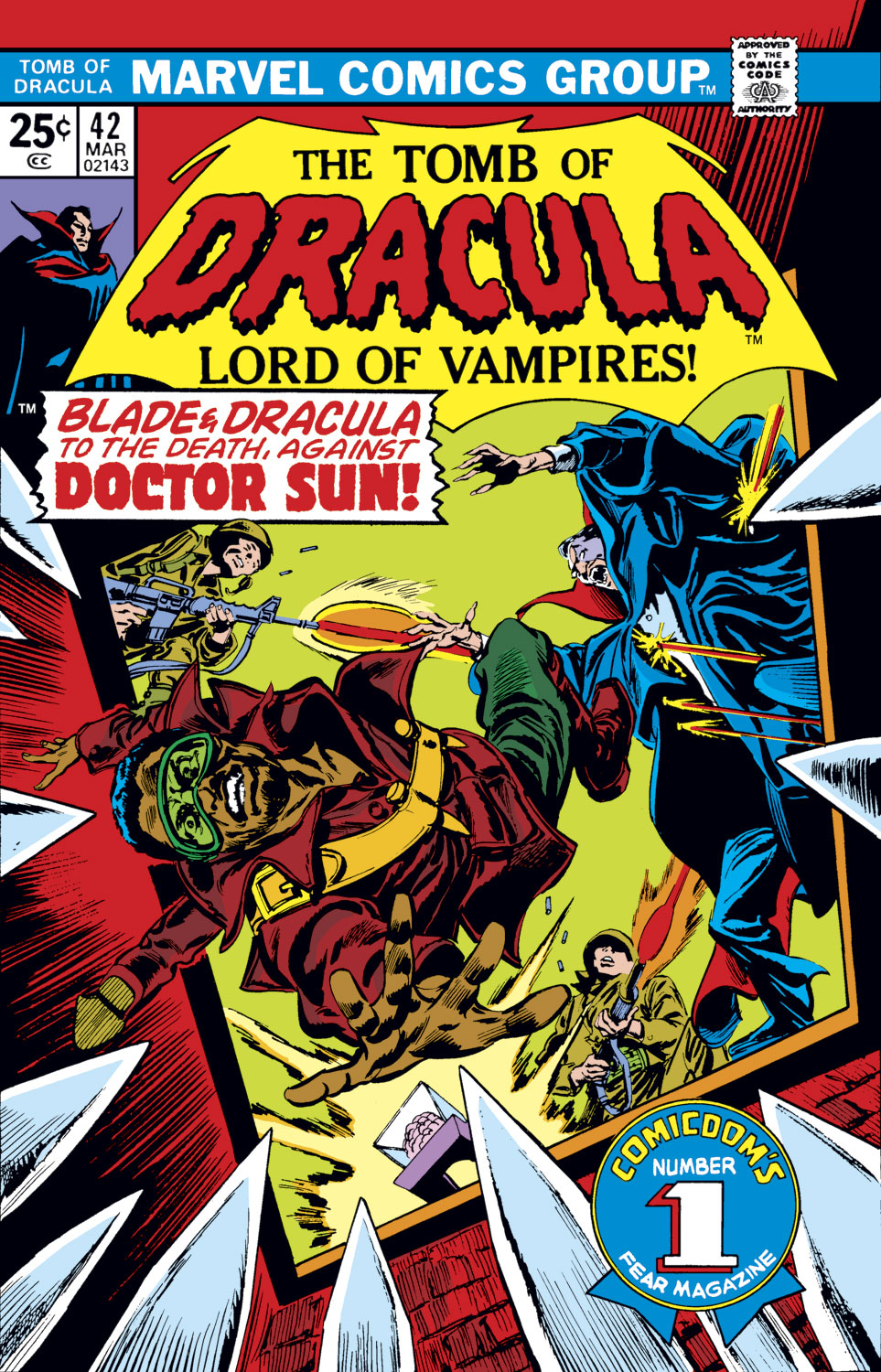 Tomb of Dracula (1972) issue 42 - Page 1