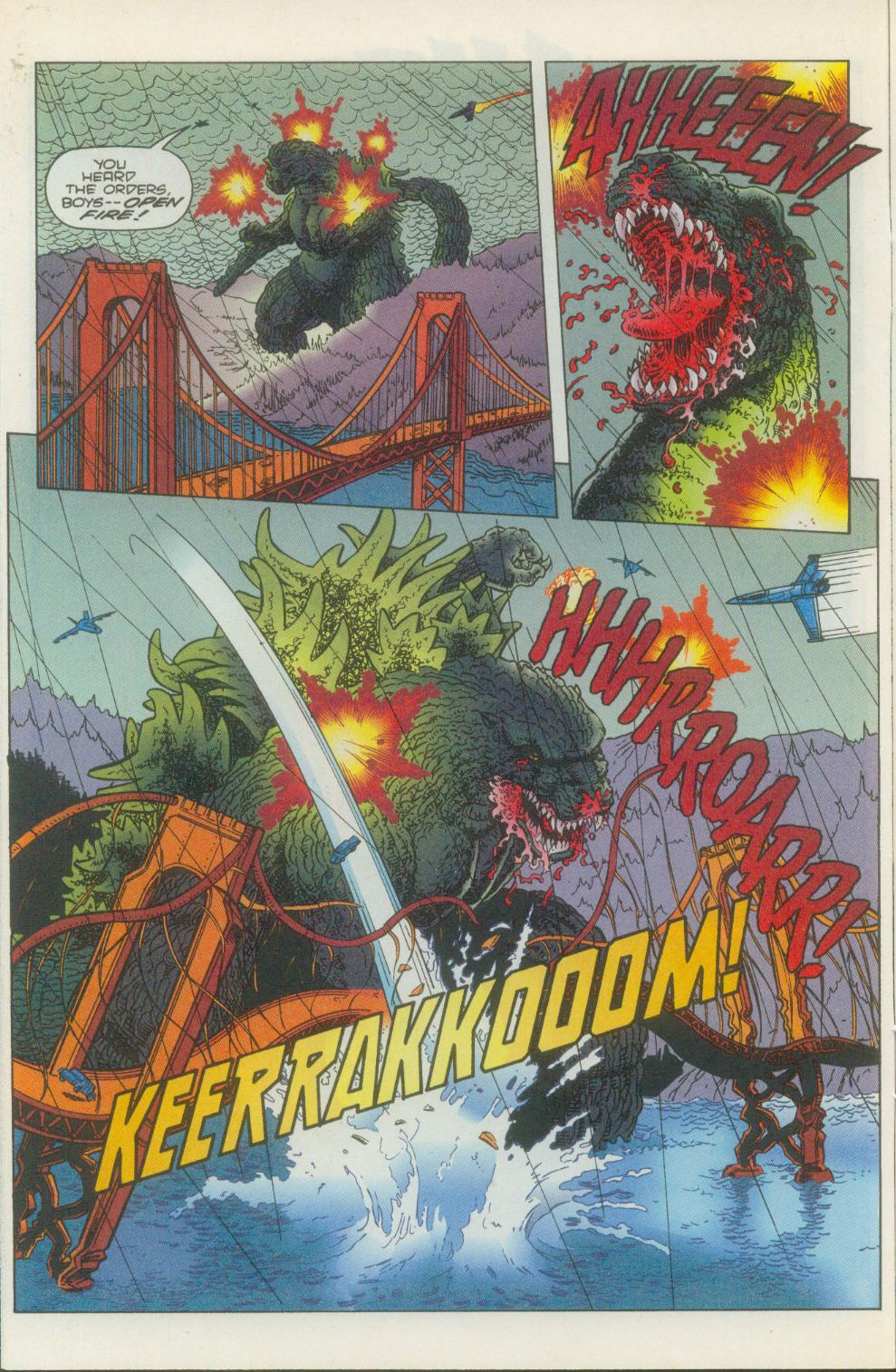 Godzilla (1995) Issue #1 #2 - English 13