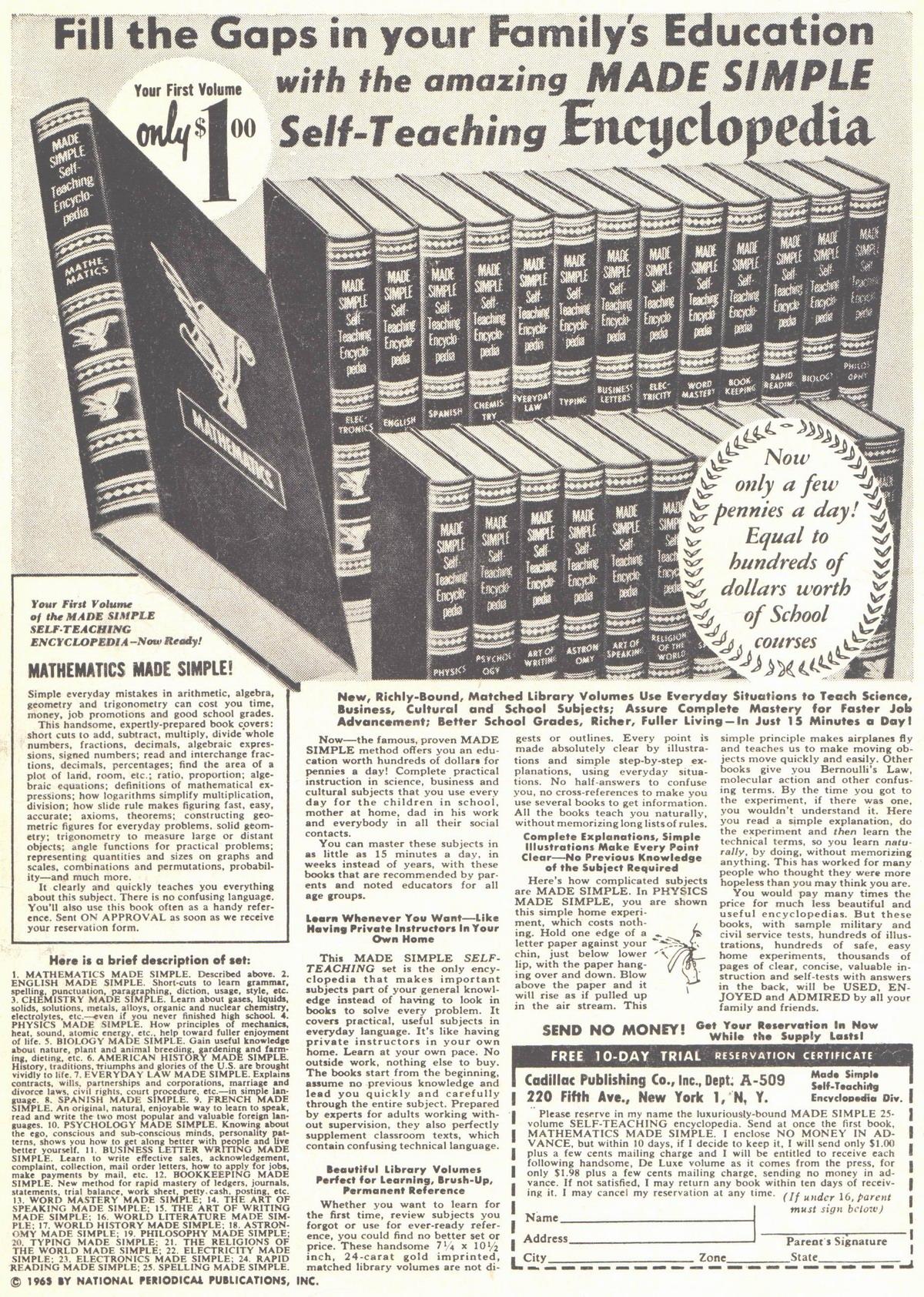 Read online Adventure Comics (1938) comic -  Issue #314 - 2