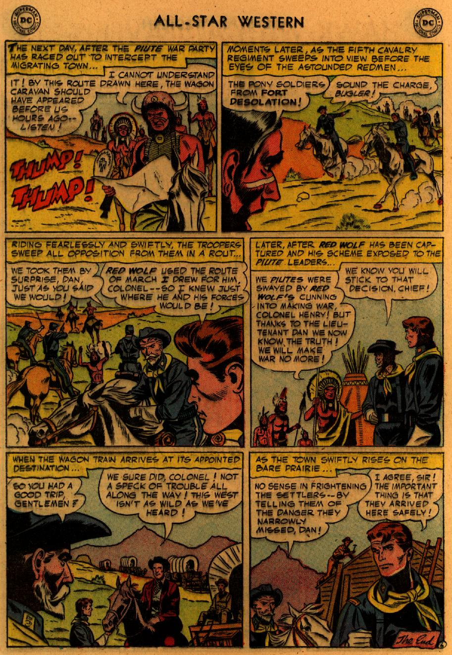 Read online All-Star Western (1951) comic -  Issue #89 - 25