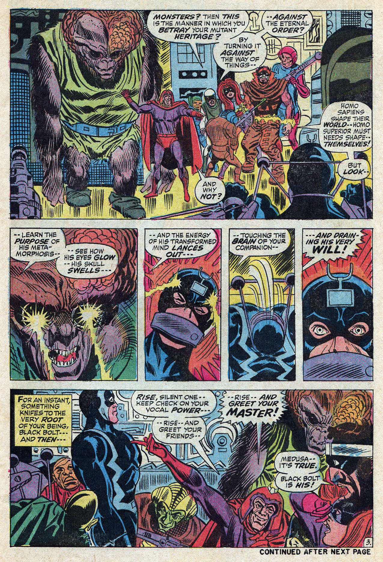 Read online Amazing Adventures (1970) comic -  Issue #10 - 5
