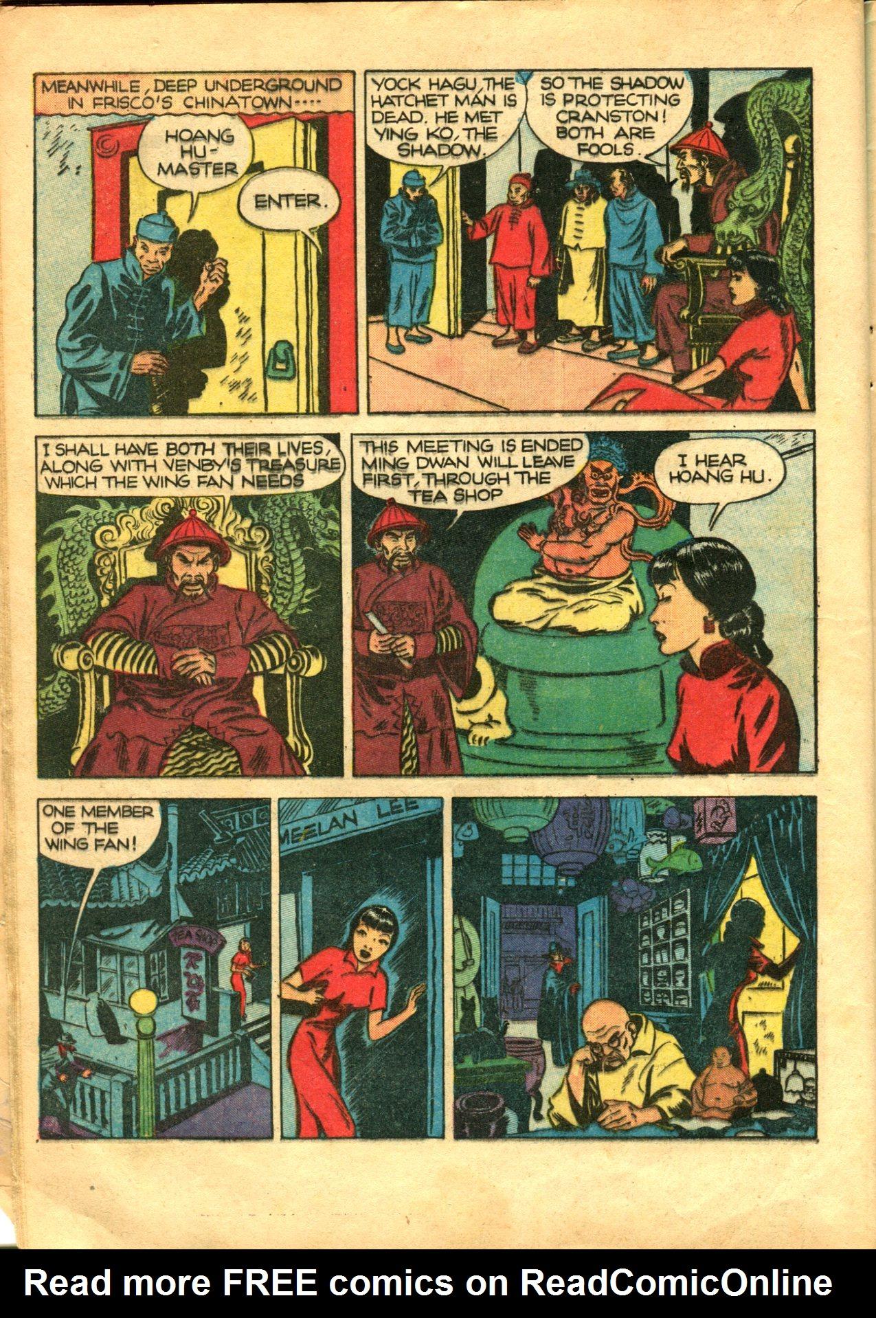 Read online Shadow Comics comic -  Issue #10 - 14