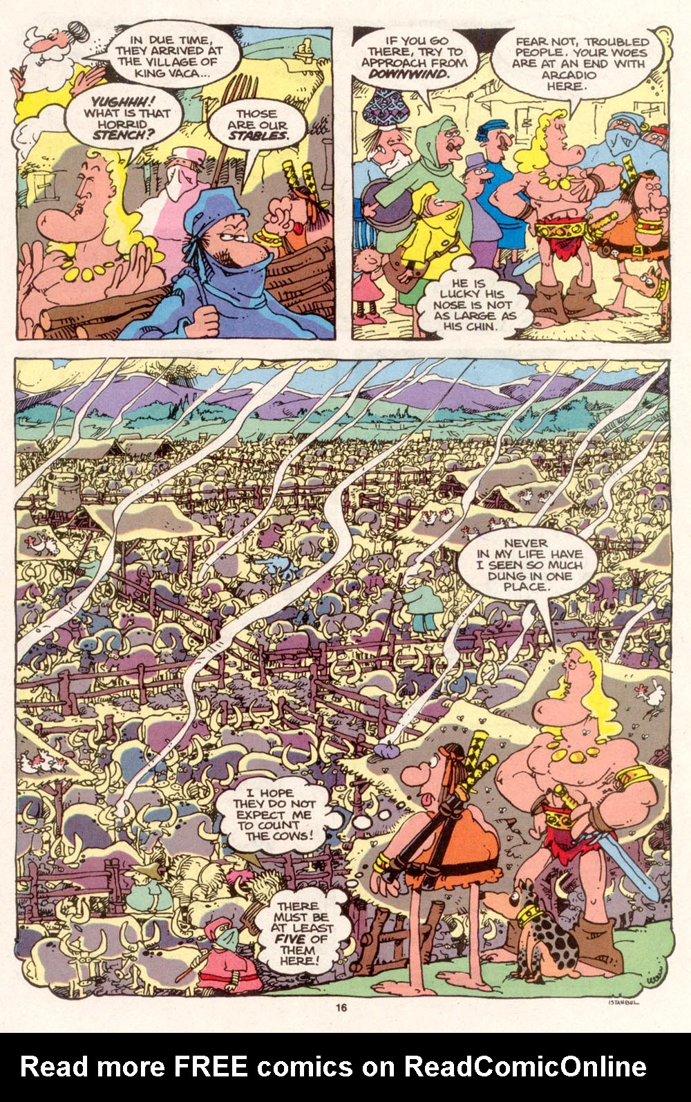 Read online Sergio Aragonés Groo the Wanderer comic -  Issue #96 - 17