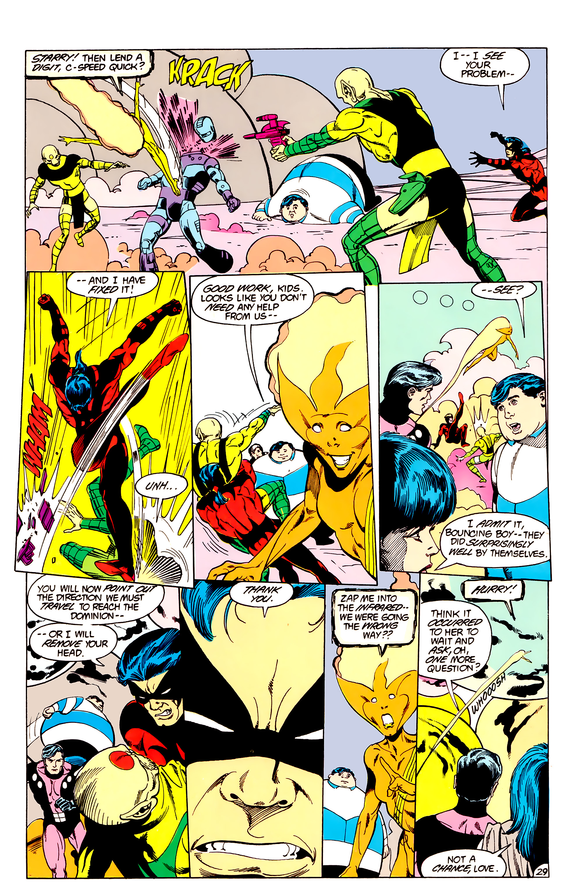 Legion of Super-Heroes (1984) _Annual_3 Page 29