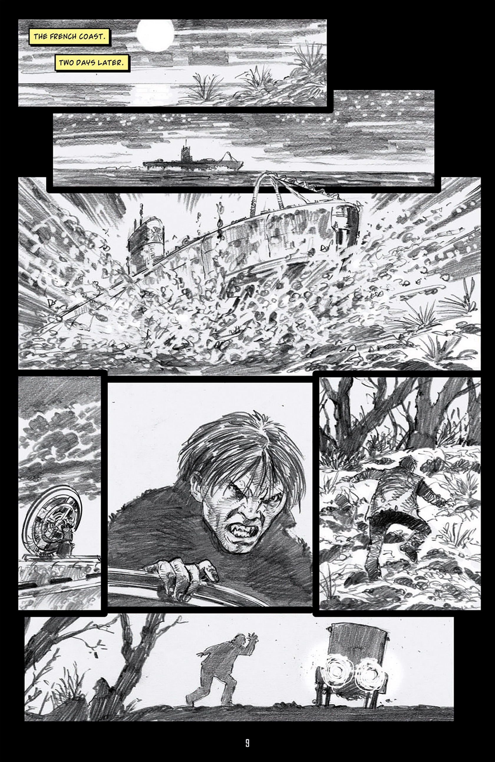 Read online Angel: Blood & Trenches comic -  Issue #1 - 12