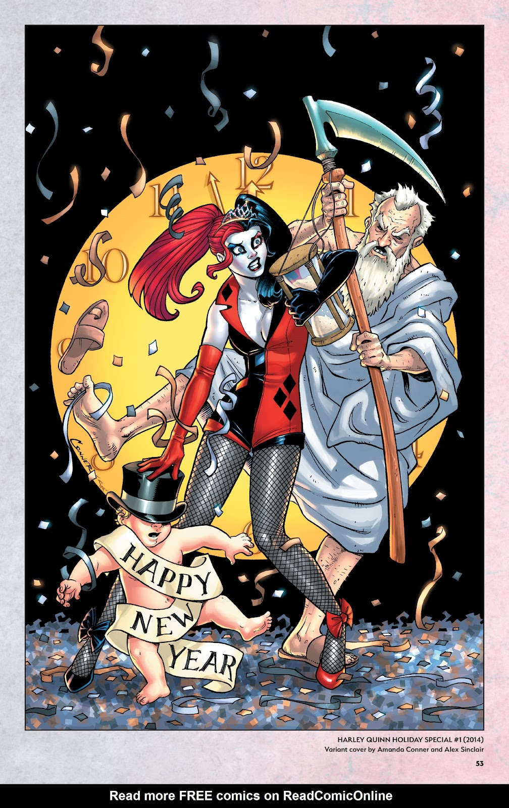 Read online Harley Quinn: A Rogue's Gallery―The Deluxe Cover Art Collection comic -  Issue # TPB (Part 1) - 51