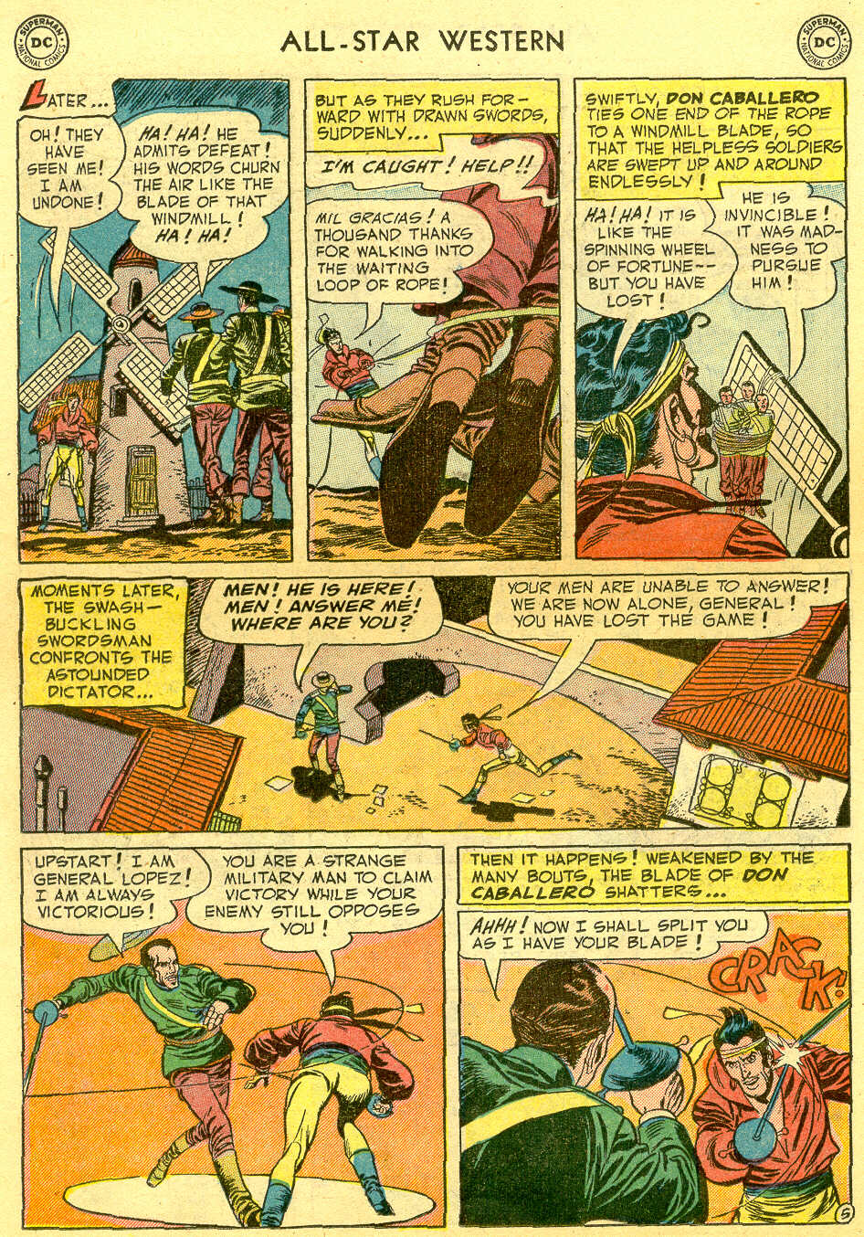 Read online All-Star Western (1951) comic -  Issue #64 - 22