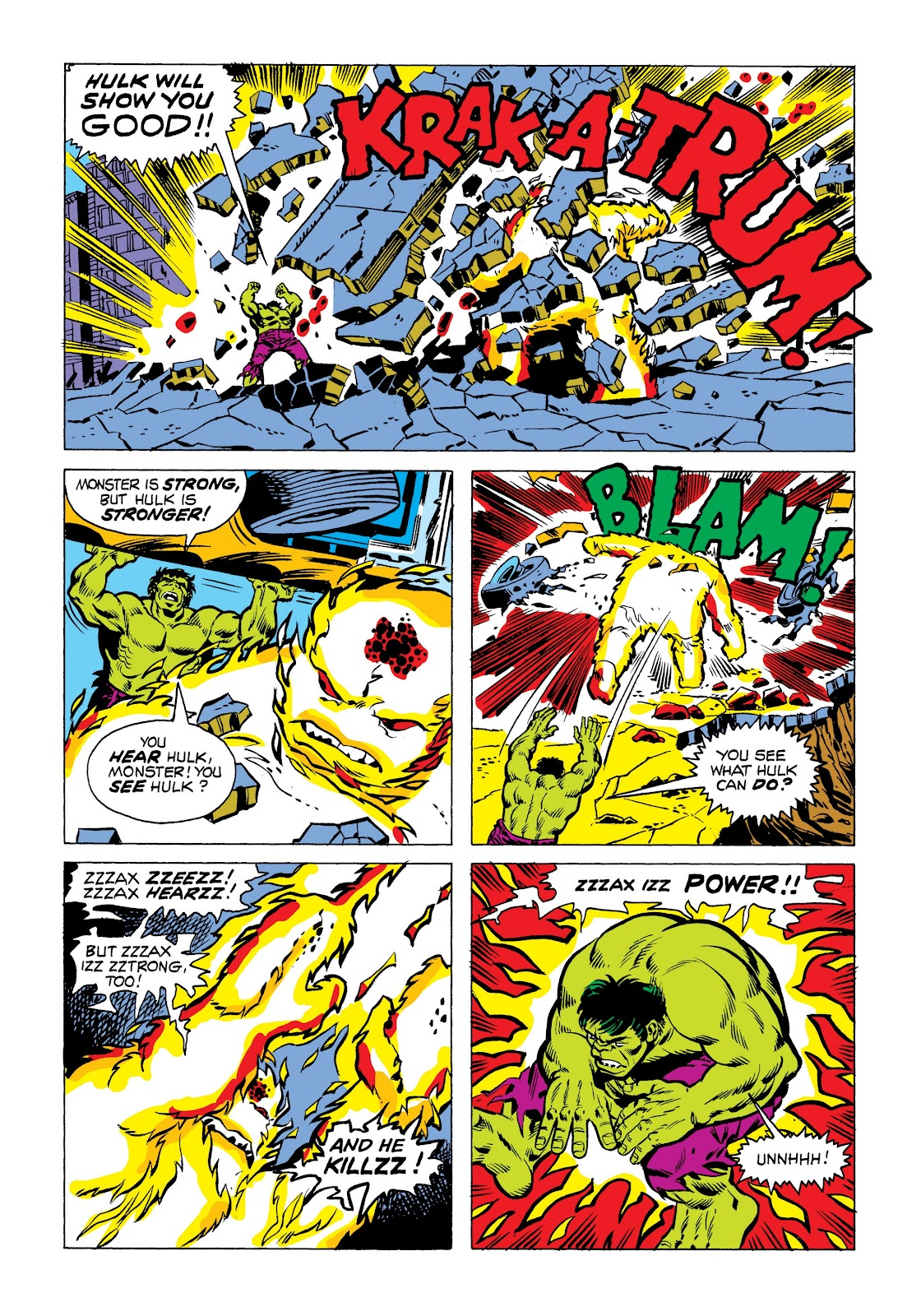 Read online Marvel Masterworks: The Incredible Hulk comic -  Issue # TPB 9 (Part 3) - 10