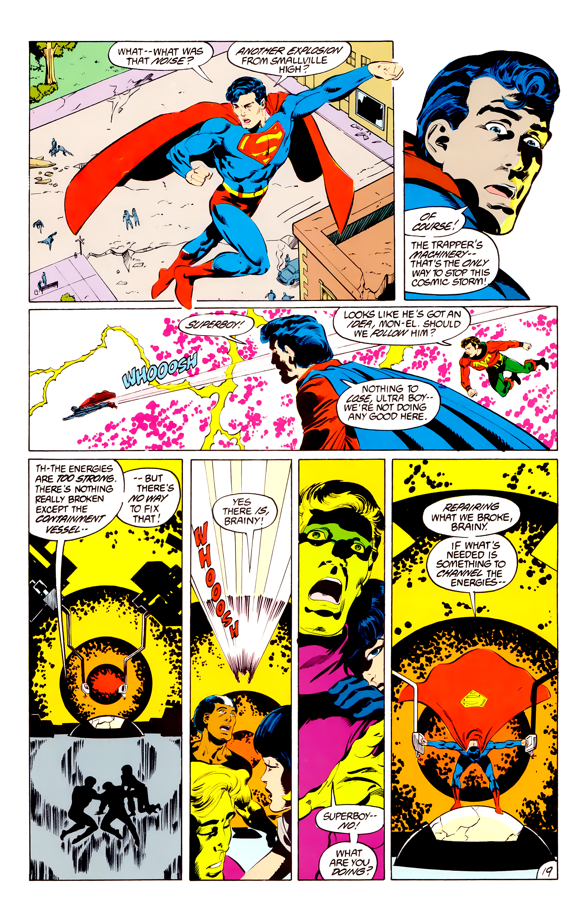 Legion of Super-Heroes (1984) 38 Page 19